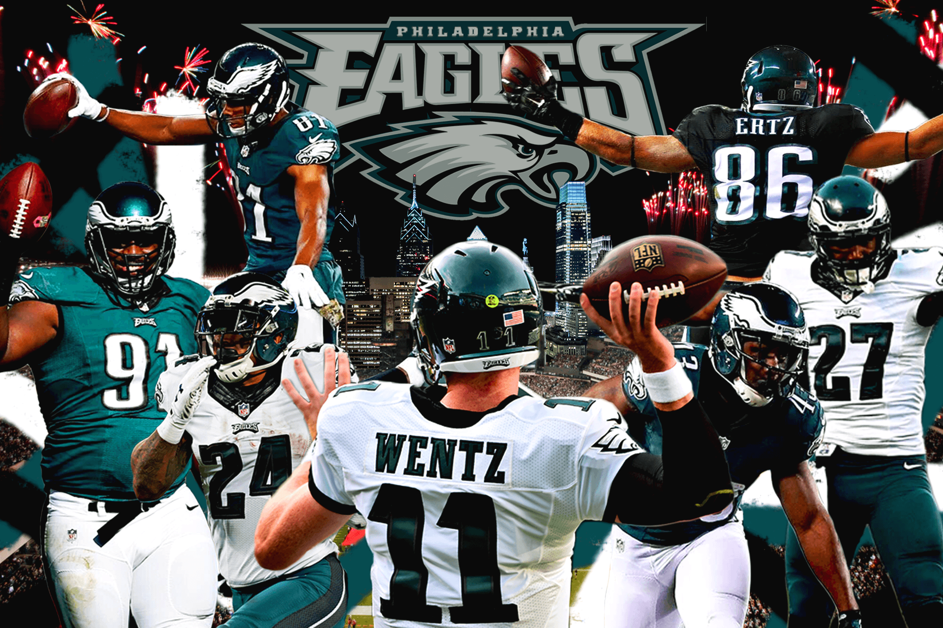If one person uses my wallpaper, I'll be happy. Fly Eagles Fly ...