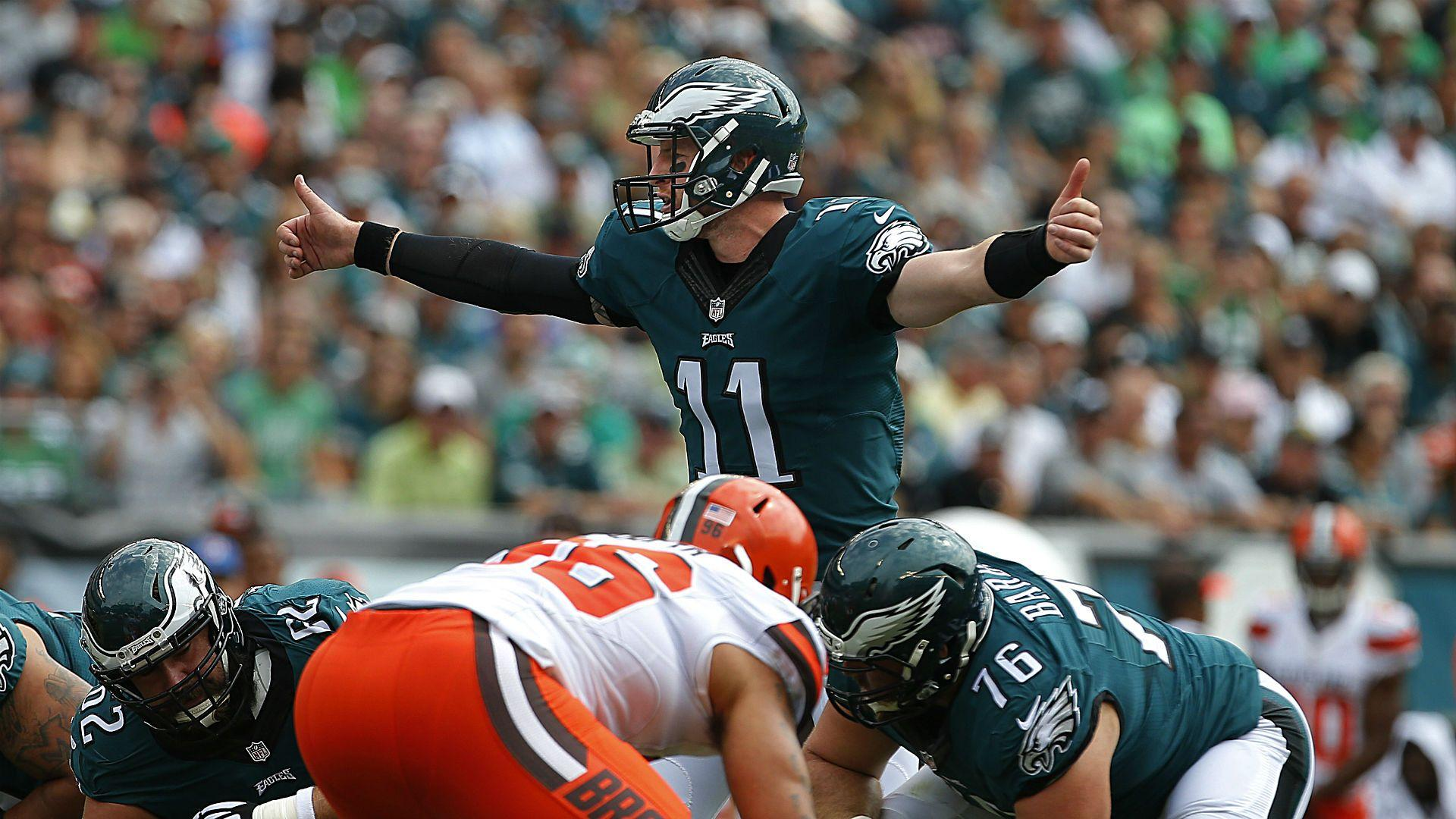 Eagles' Carson Wentz was ready on Day 1, just as Doug Pederson ...