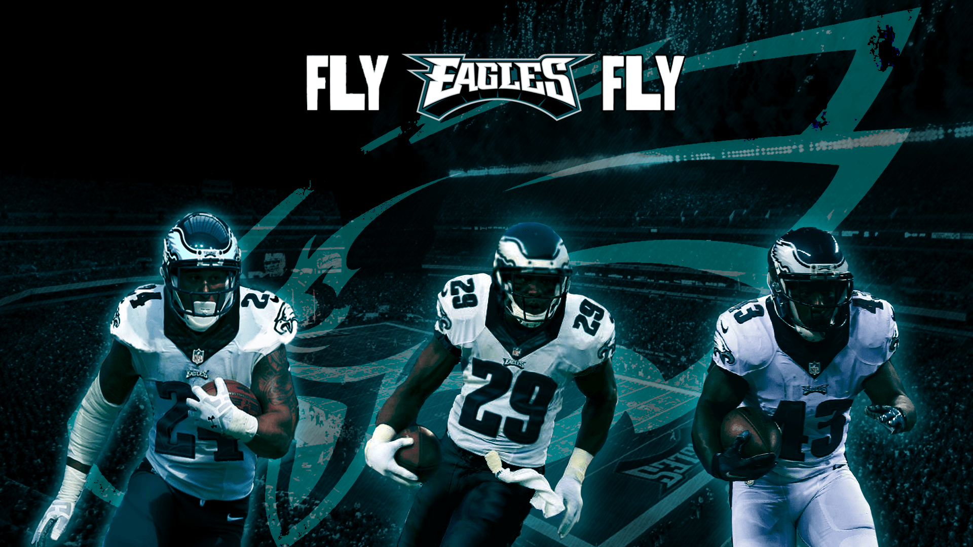 In excitement over our new backfield, I've created a new wallpaper ...