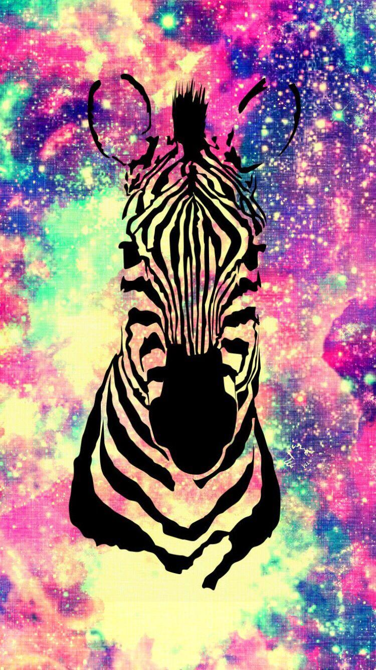 Zebra Galaxy Wallpapers