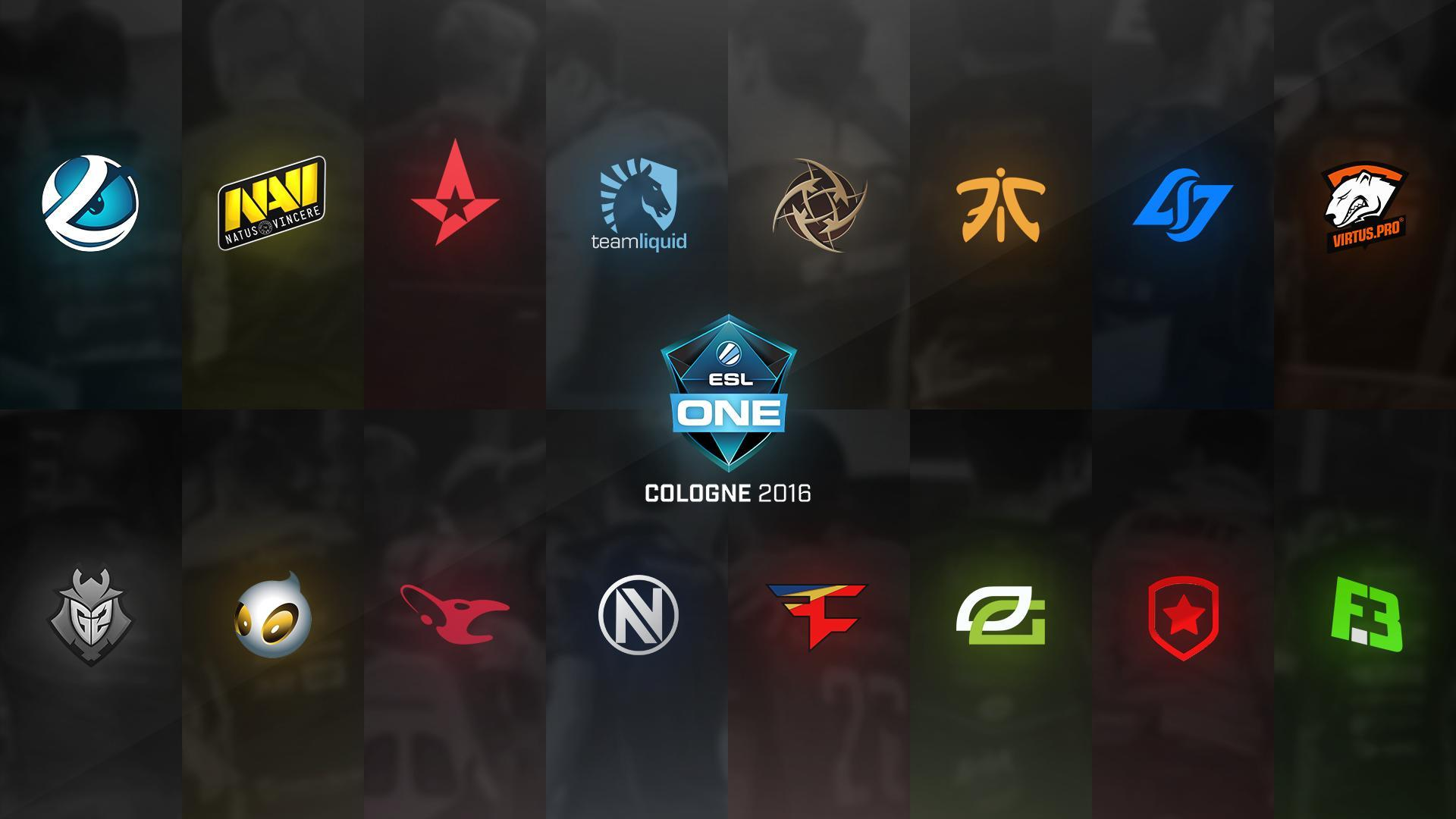 ESL One Cologne 2016 Team Logos Wallpapers : GlobalOffensive
