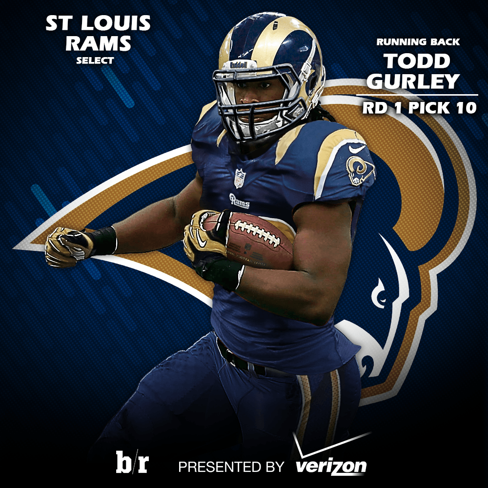 Bleacher Report on Twitter: First look at Todd Gurley in a St