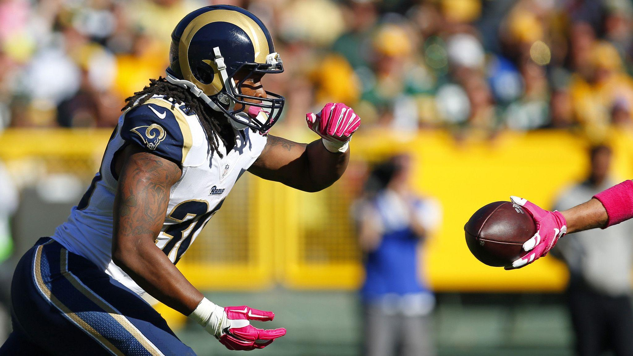 Rookie Todd Gurley shows St. Louis Rams he was worthy of No. 10