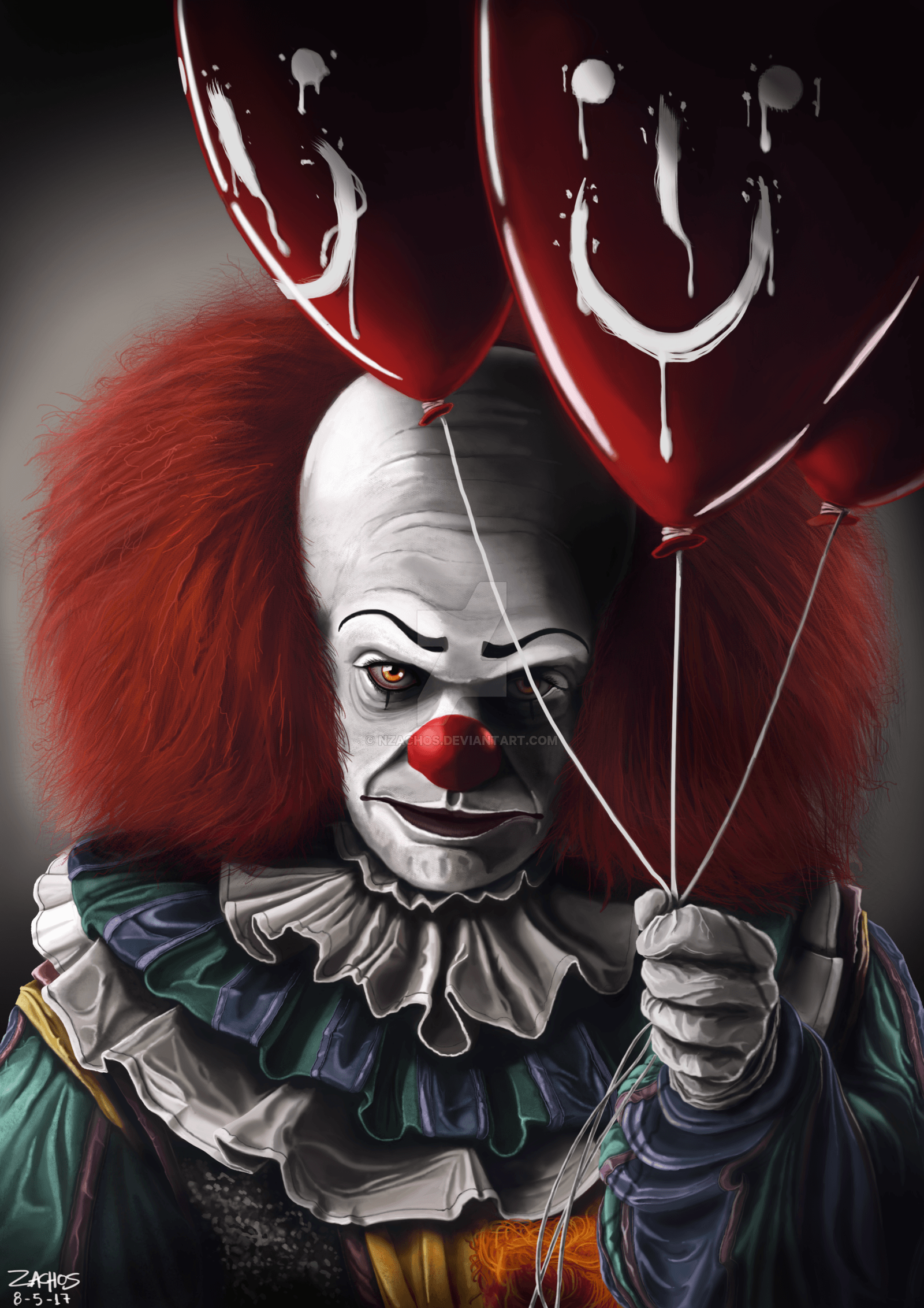 Pennywise The Dancing Clown By NZachos On DeviantArt