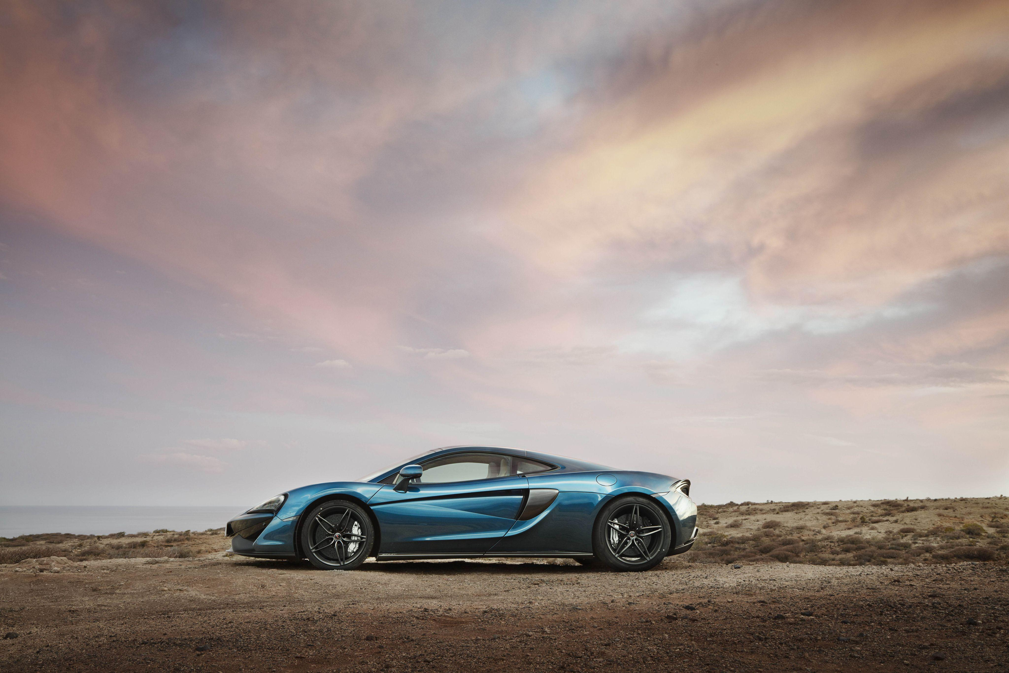 Wallpaper Mclaren, 570gt, Side view, Car HD, Picture, Image