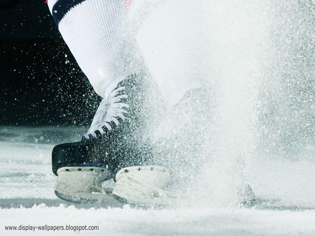 Ice hockey player wallpaper