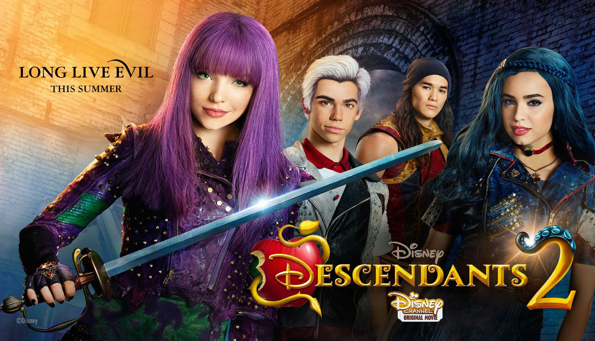 descendants 2 wallpapers wallpaper cave. Black Bedroom Furniture Sets. Home Design Ideas