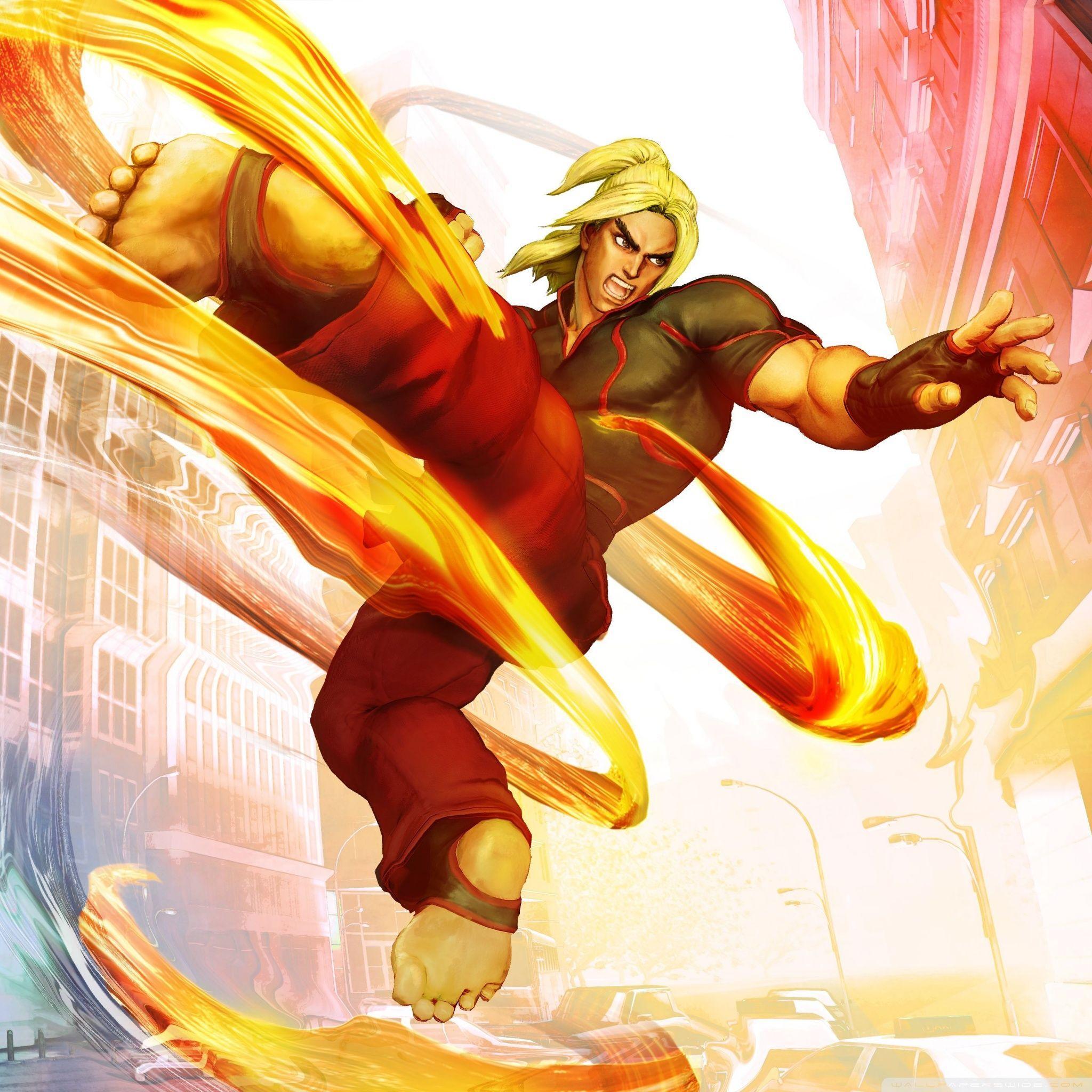 Street Fighter Ken Wallpapers - Wallpaper Cave