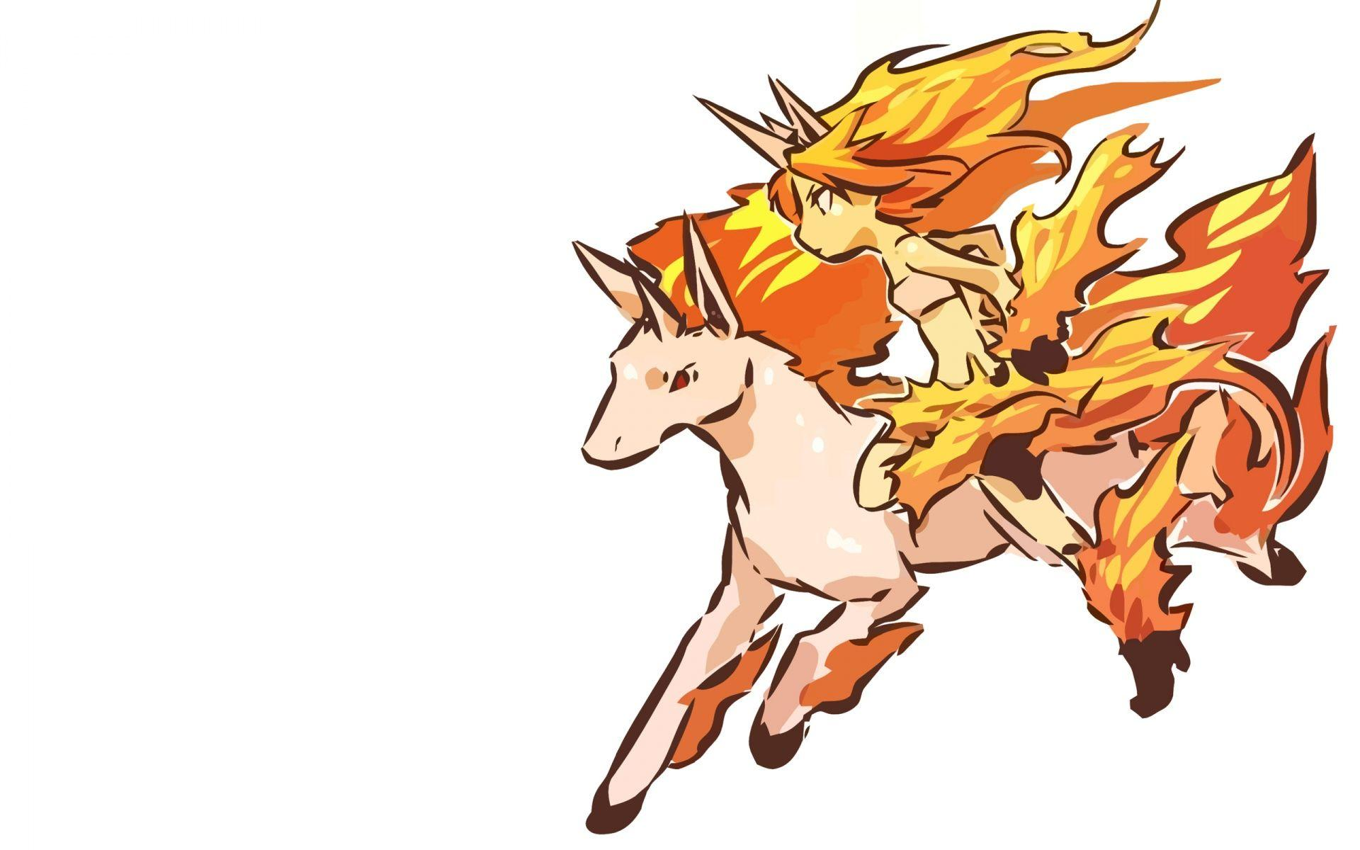 Rapidash - Pokémon - Wallpaper #206791 - Zerochan Anime Image Board