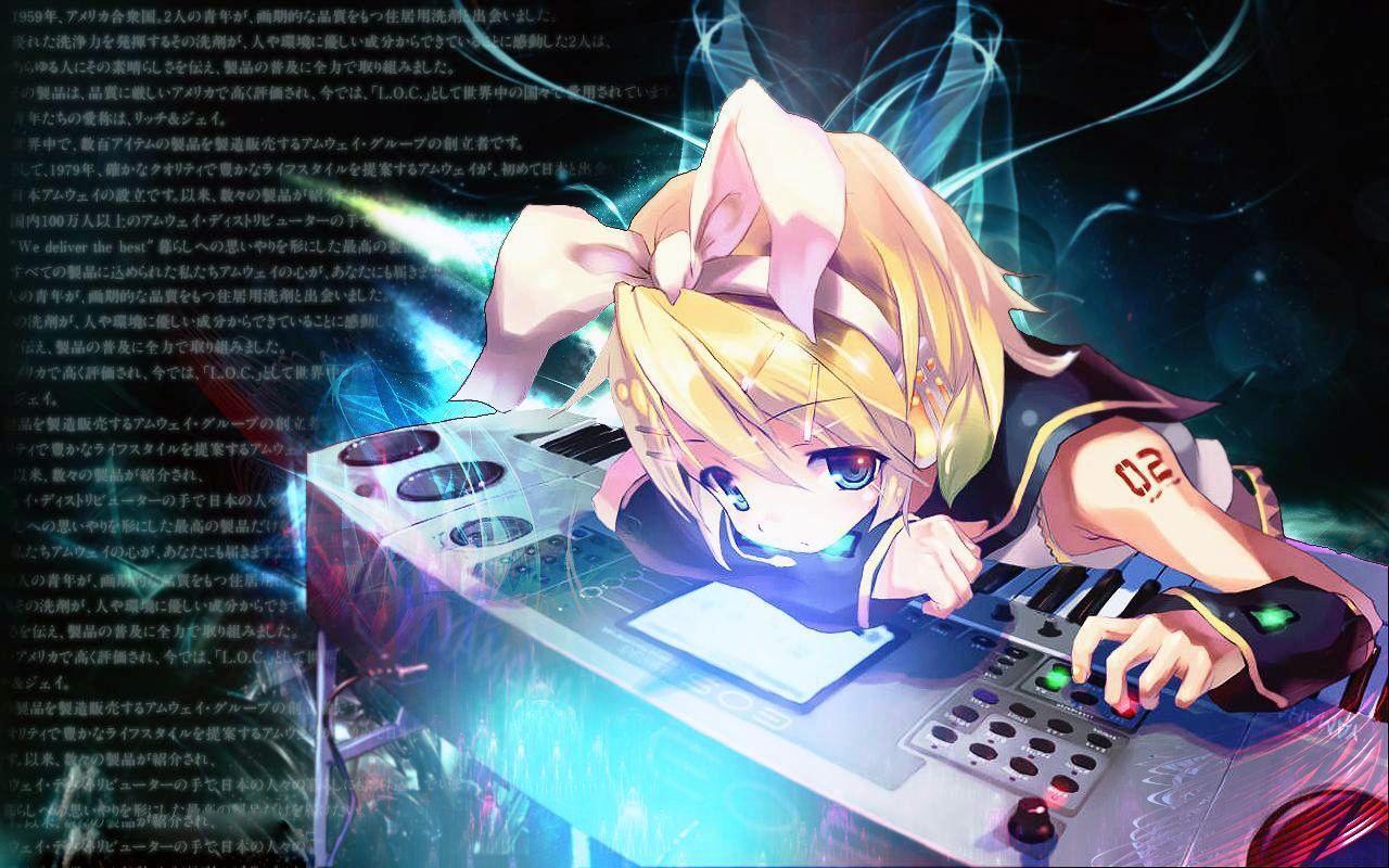 Anime Dj: Anime DJ Wallpapers