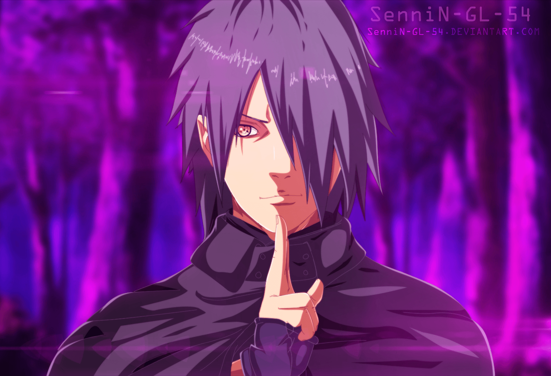 Sasuke Boruto Anime Wallpapers Wallpaper Cave