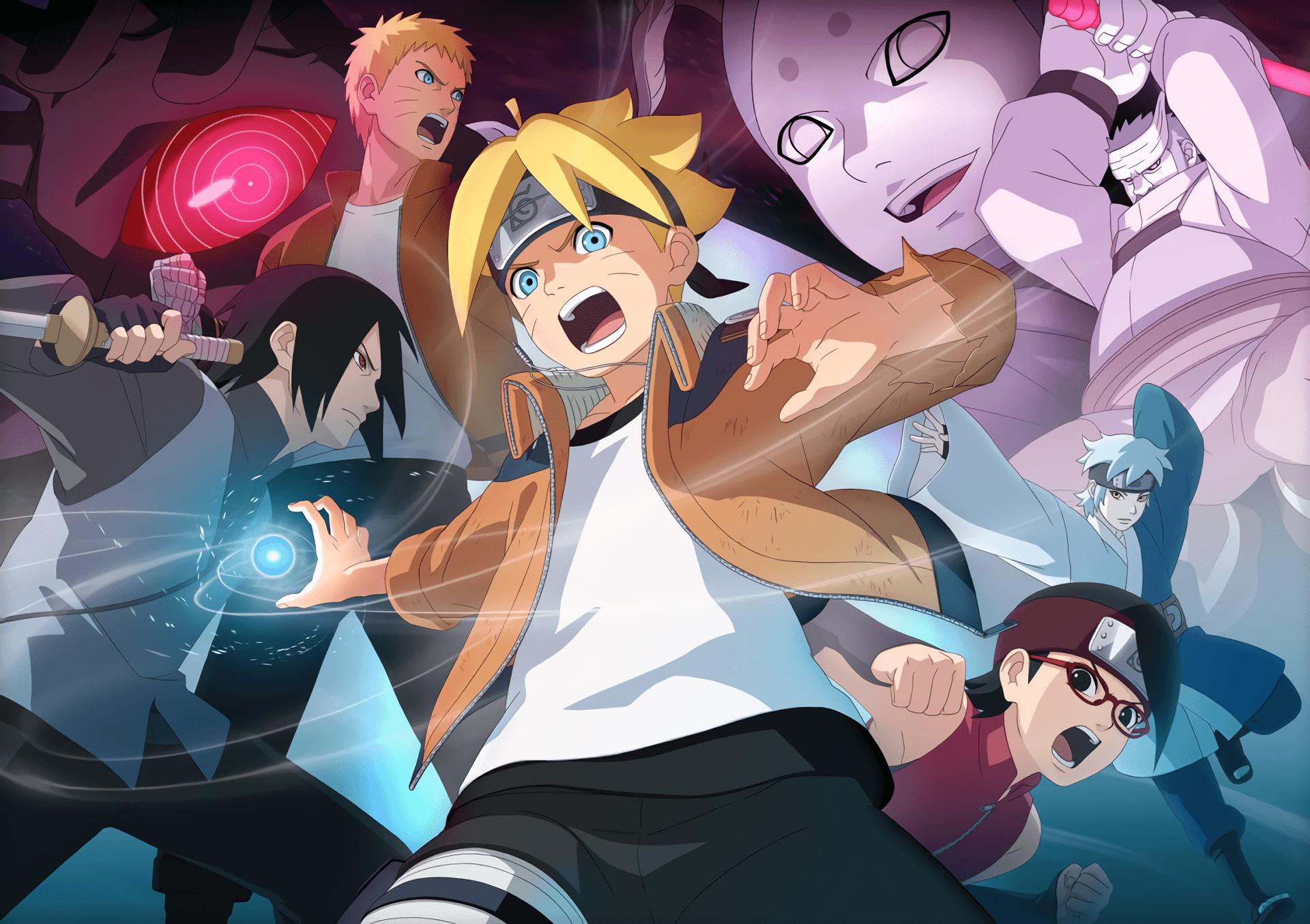 Naruto And Sasuke Boruto Wallpaper Wallpaper Boruto