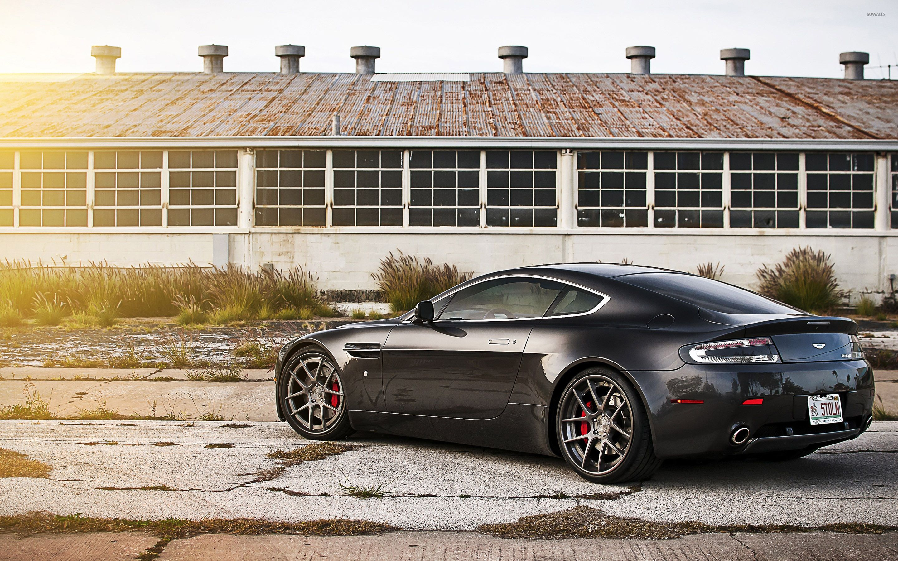 Back side view of a 2013 Aston Martin Vanquish wallpaper - Car ...