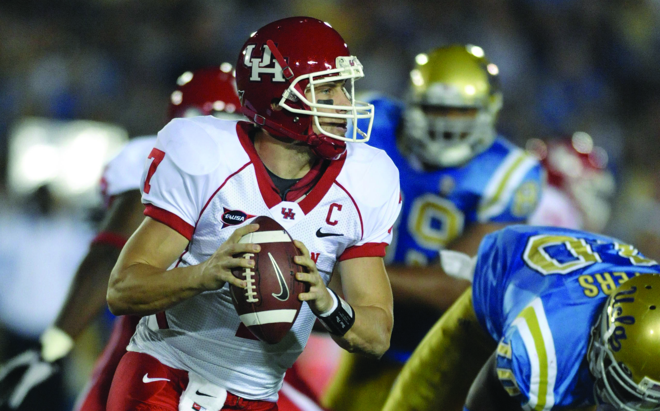 For Case Keenum and the Houston Cougars, season opener against