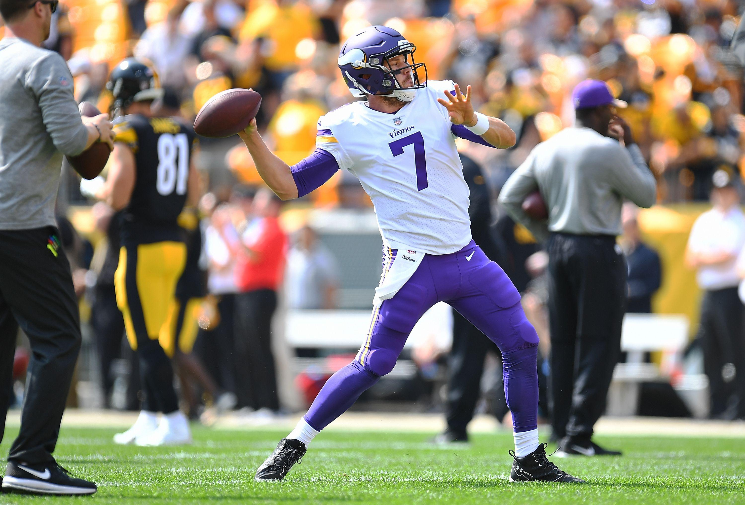 With Bradford out, what can the Vikings expect from Keenum in Week 3?