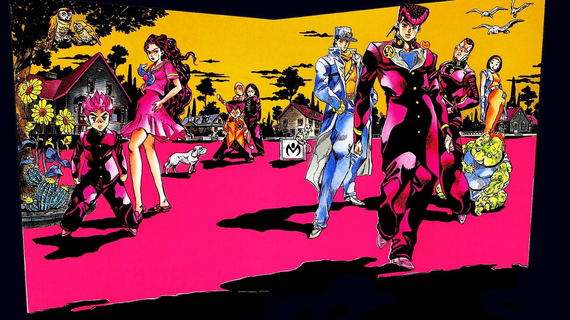 Jojo S Bizarre Adventure Wallpapers Wallpaper Cave