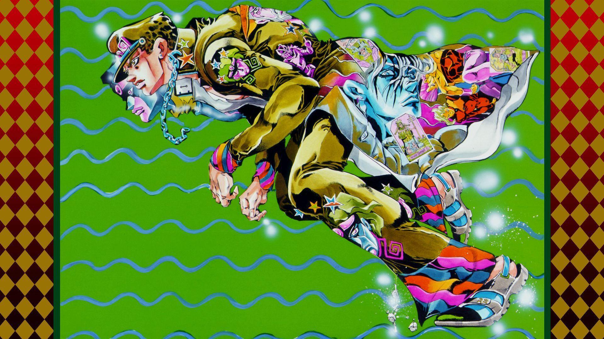 Jojo S Bizarre Adventure Wallpapers Wallpaper Cave