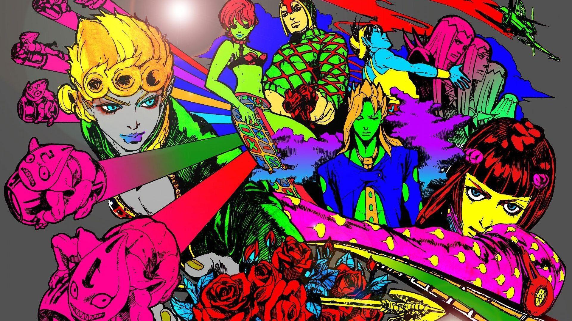 JoJo's Bizarre Adventure Wallpapers - Wallpaper Cave