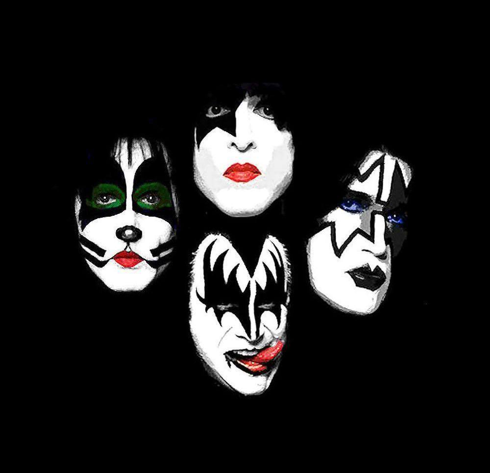 Now Kiss And Makeup: KISS Band Wallpapers