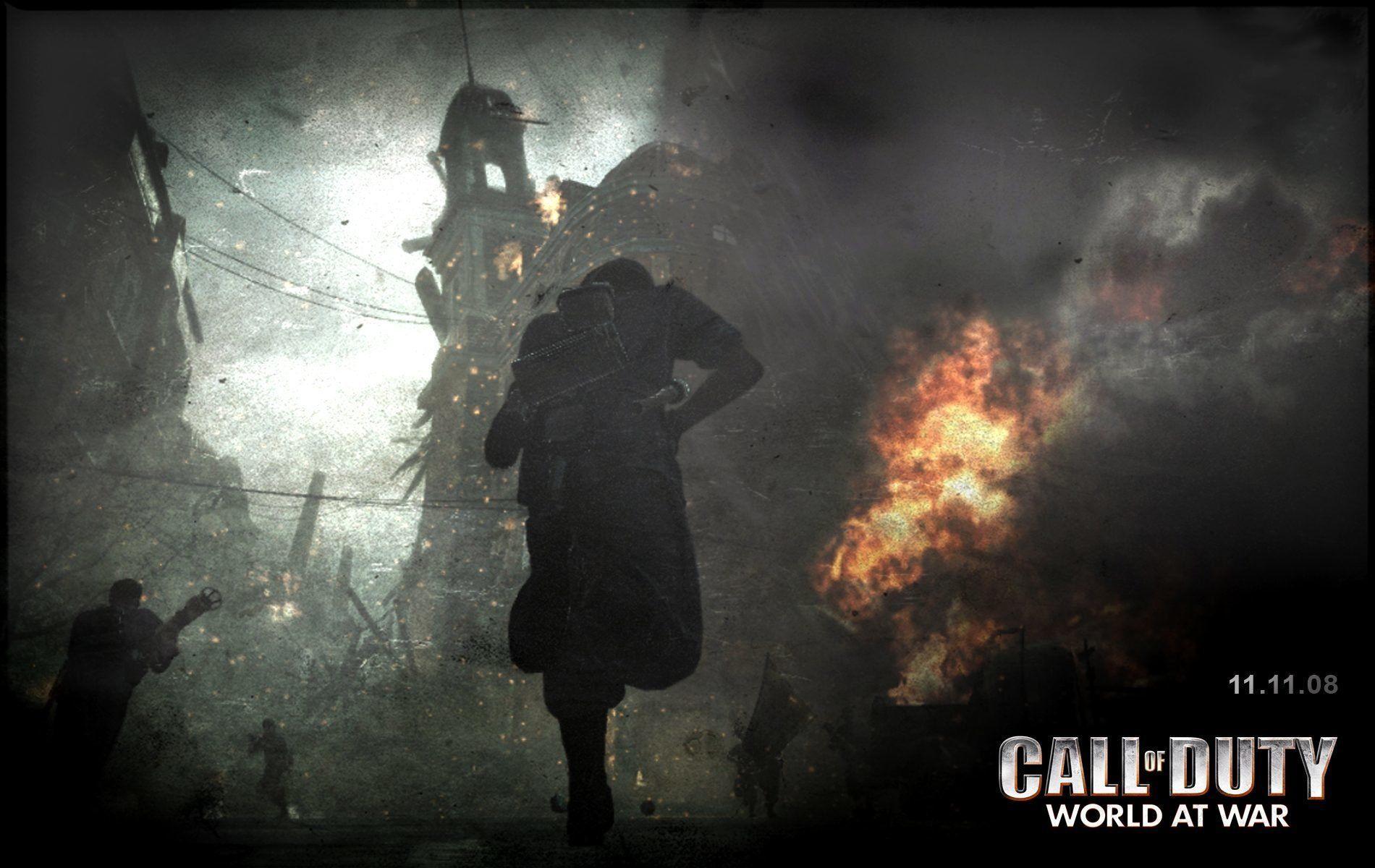 Call Of Duty World At War Wallpaper: COD WW2 Wallpapers