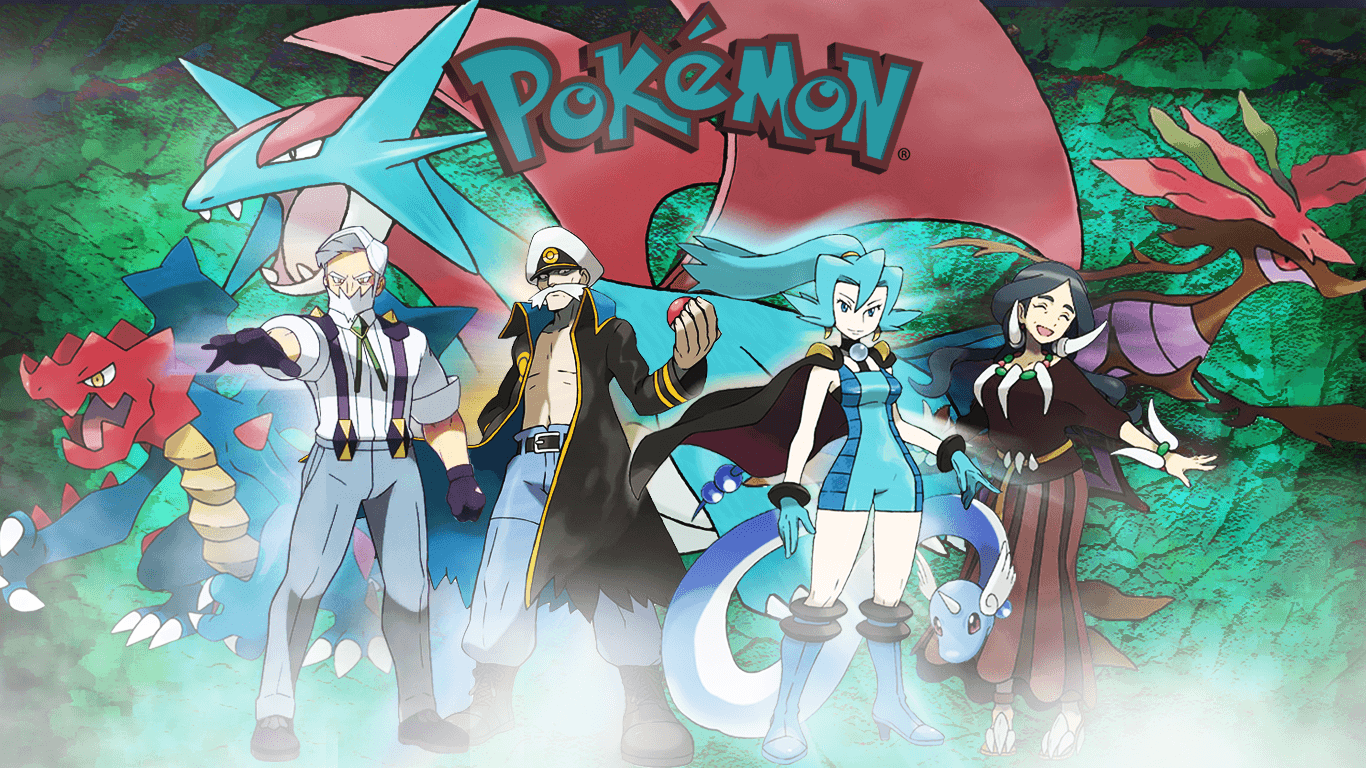 Dragon type Pokemon trainers by saintnaruto