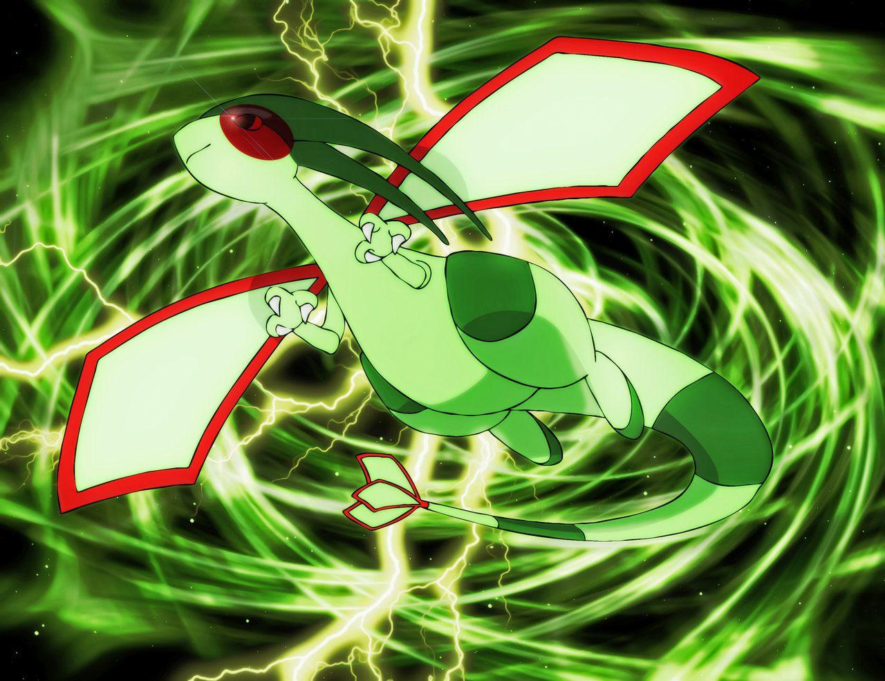 Dragon-Type Pokemons images Flygon WP HD wallpaper and background ...