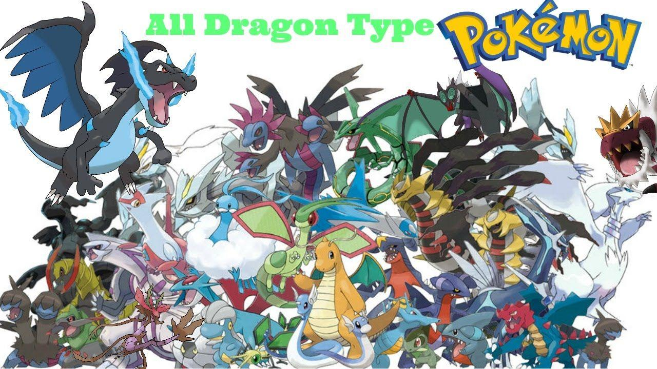 Pokemon Dragon Type Names