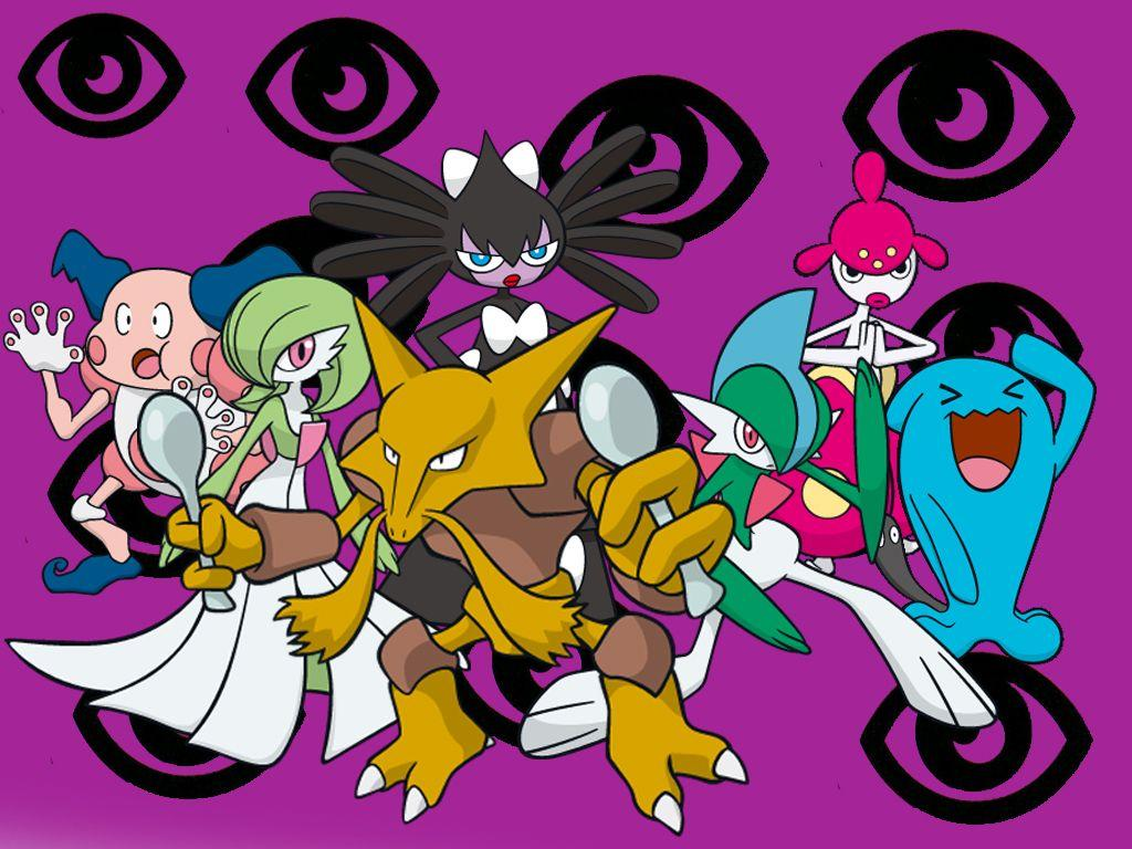 All Psychic Type Pokemon Image