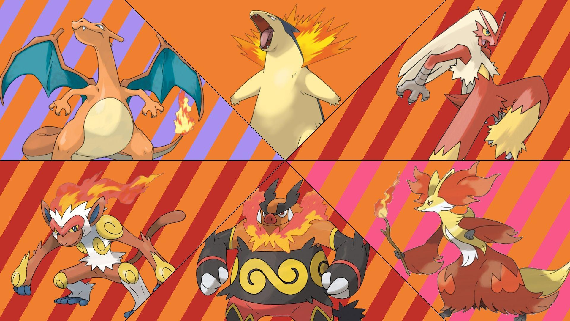 Download Fire Type Pokemon Wallpapers Gallery