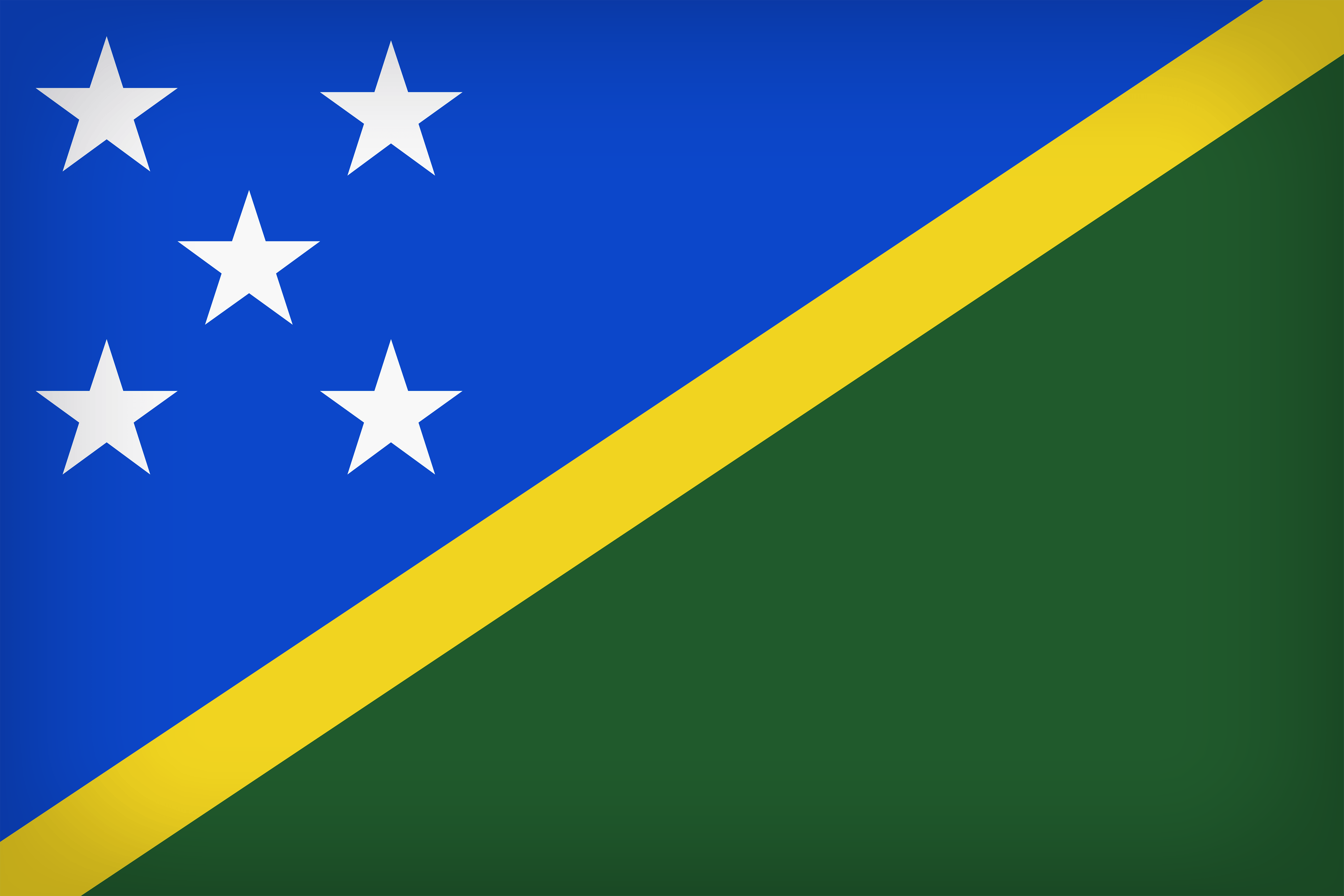 Solomon Islands Large Flag
