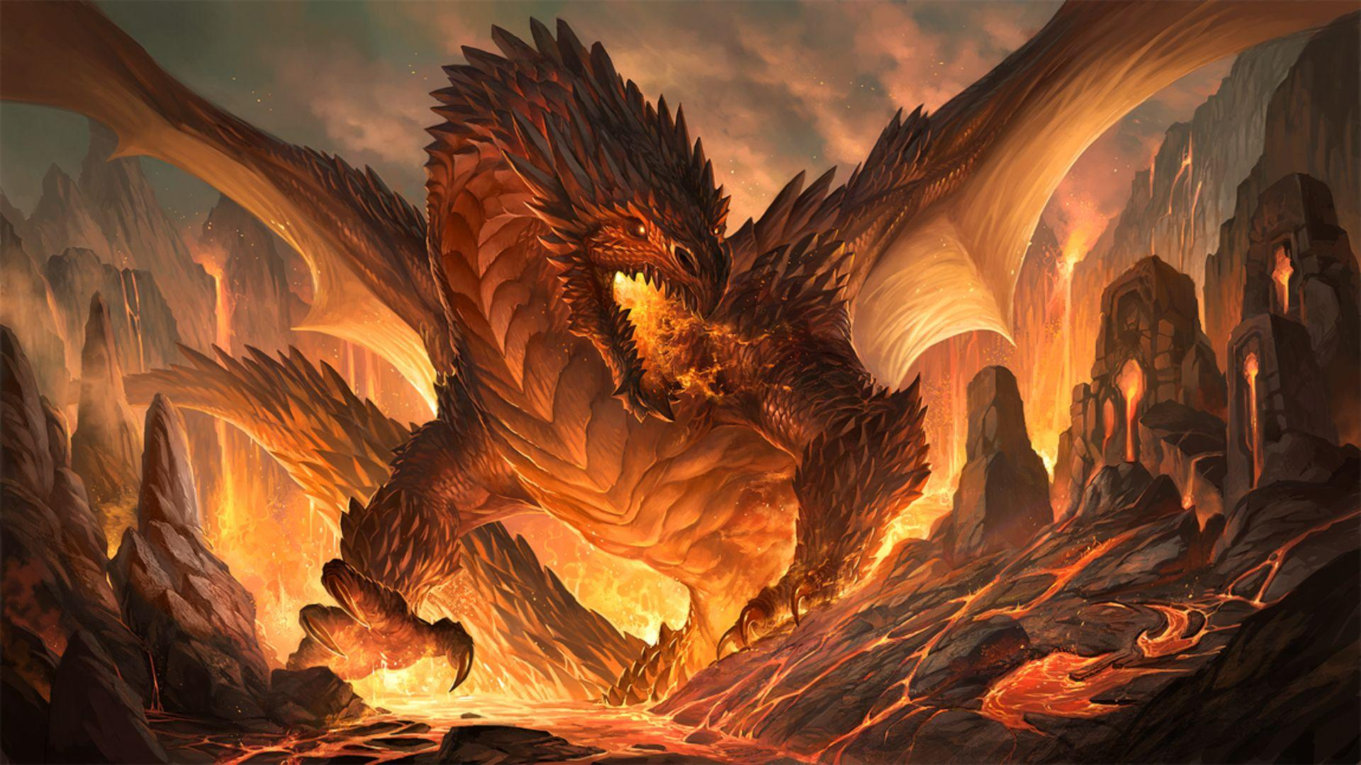 Fire Dragons Wallpapers Wallpaper Cave