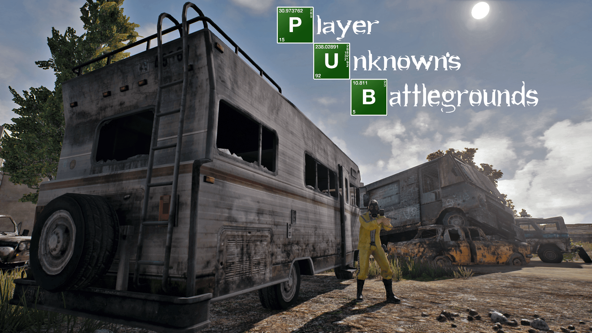 Made a PUBG Wallpapers of Breaking Bad 1920 x 1080 : PUBATTLEGROUNDS
