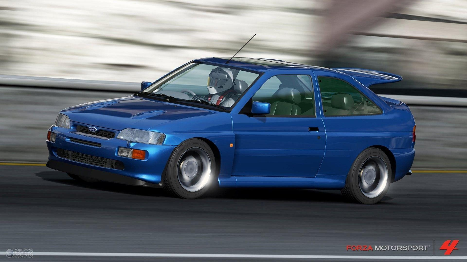 Xbox 360 ford escort forza motorsport 4 wallpapers