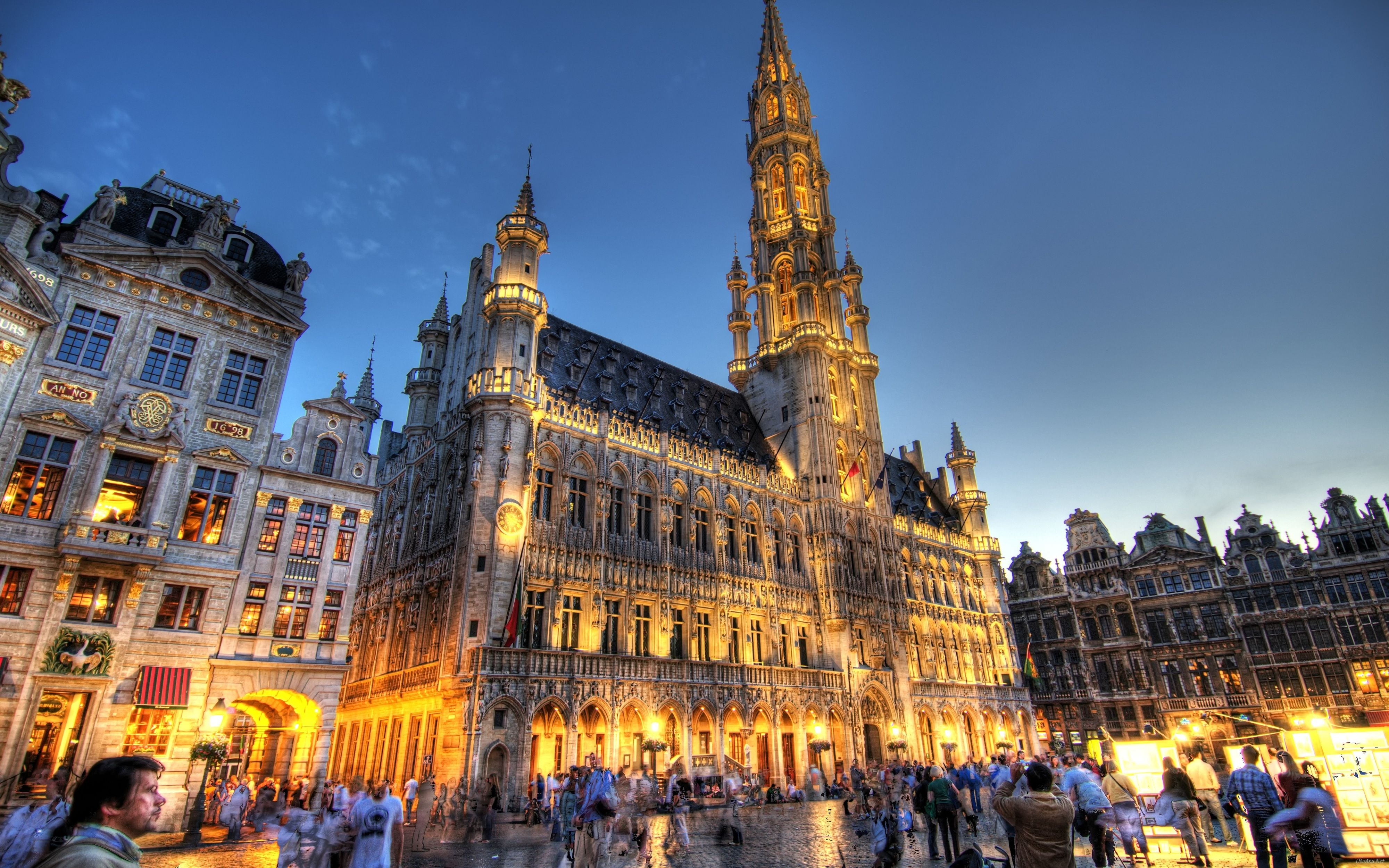 Brussels wallpapers with cities HD Desktop Wallpapers