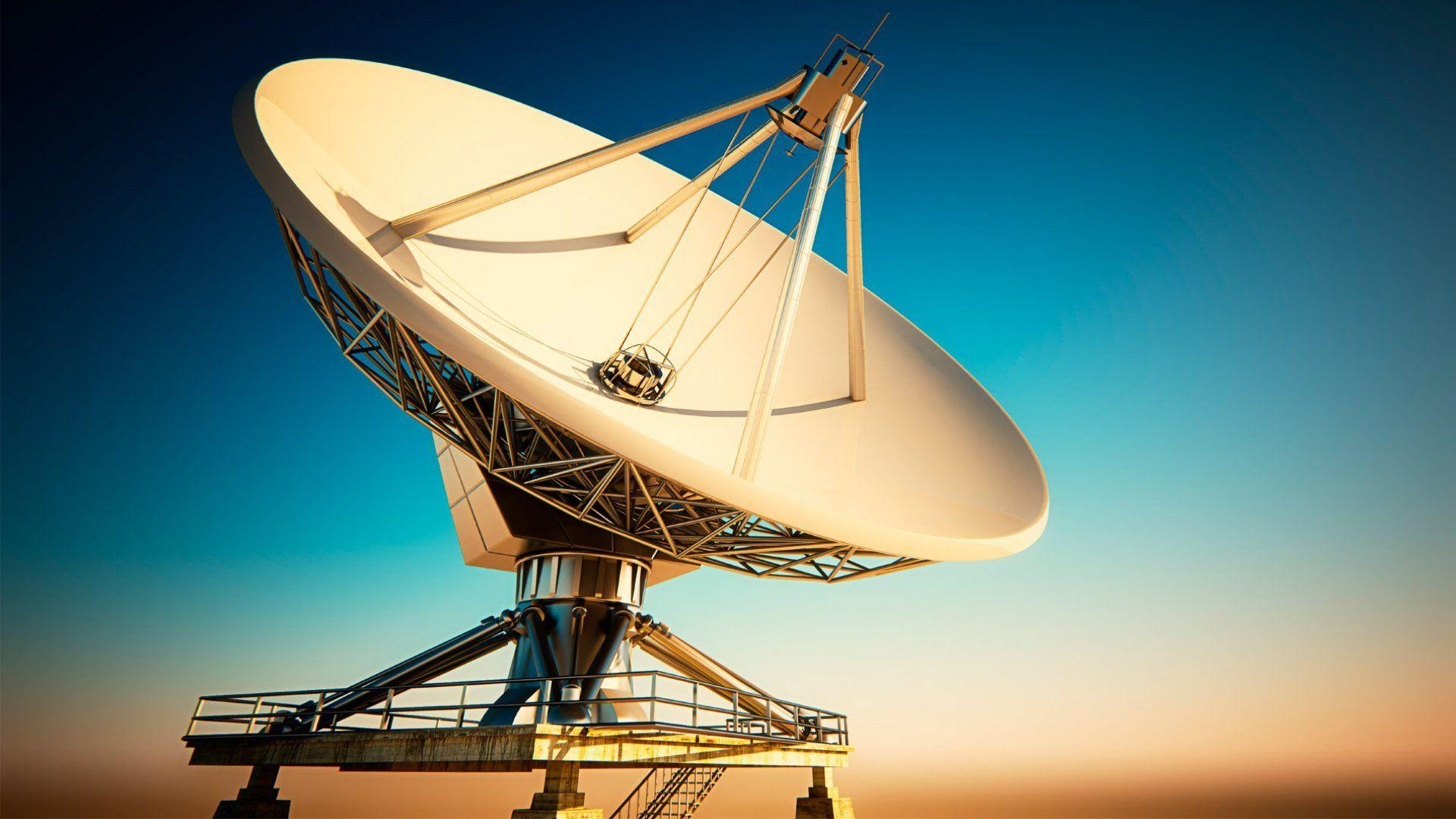 satellite dish sky communication HD wallpapers
