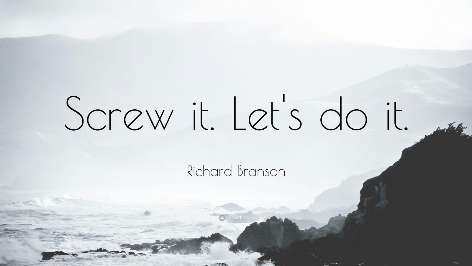 Richard Branson Quotes (100 wallpapers) - Quotefancy