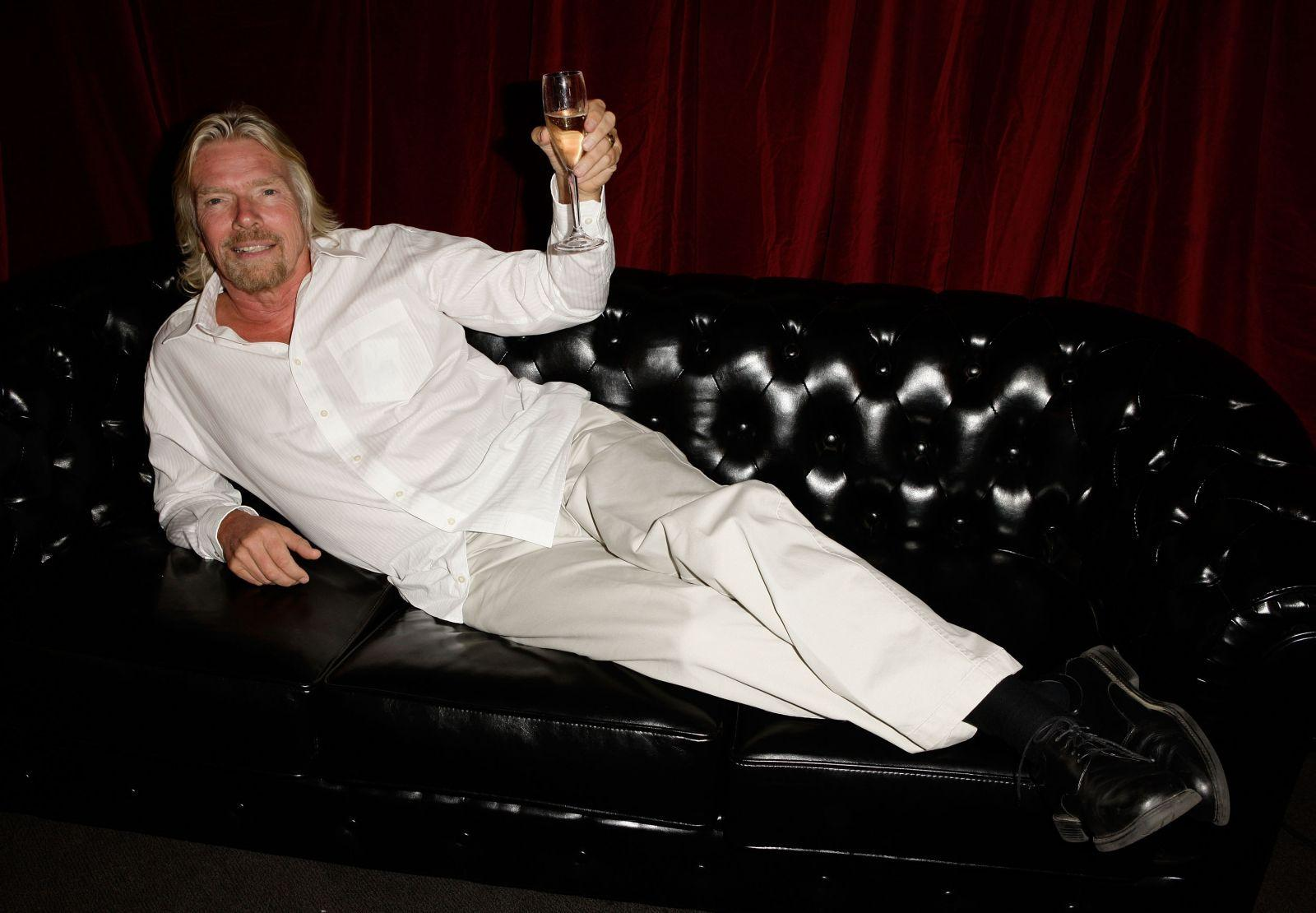 34 Photos of Richard Branson That Will Make You Go Hmm