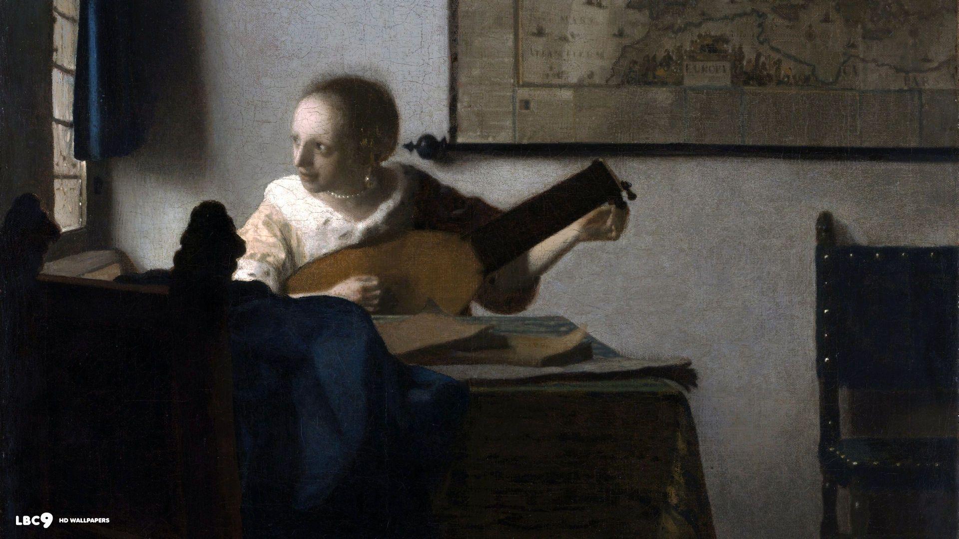 johannes vermeer wallpaper 16/16 | paintings hd backgrounds
