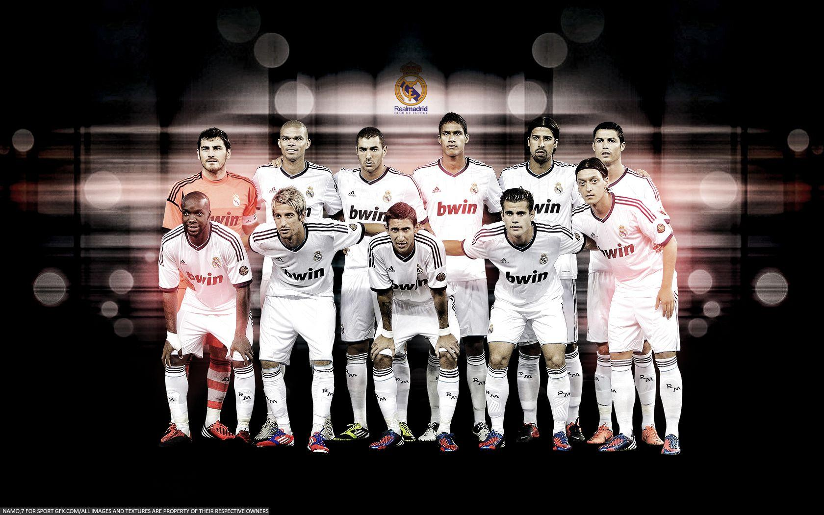 Real Madrid Squad Wallpapers