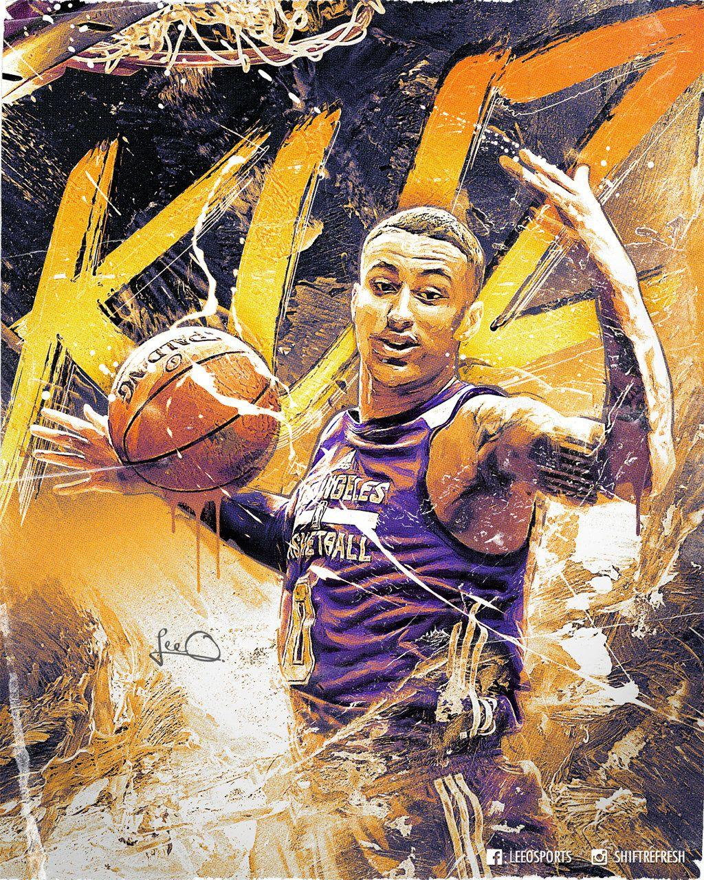 Kyle Kuzma Lakers NBA Poster Design by skythlee on DeviantArt