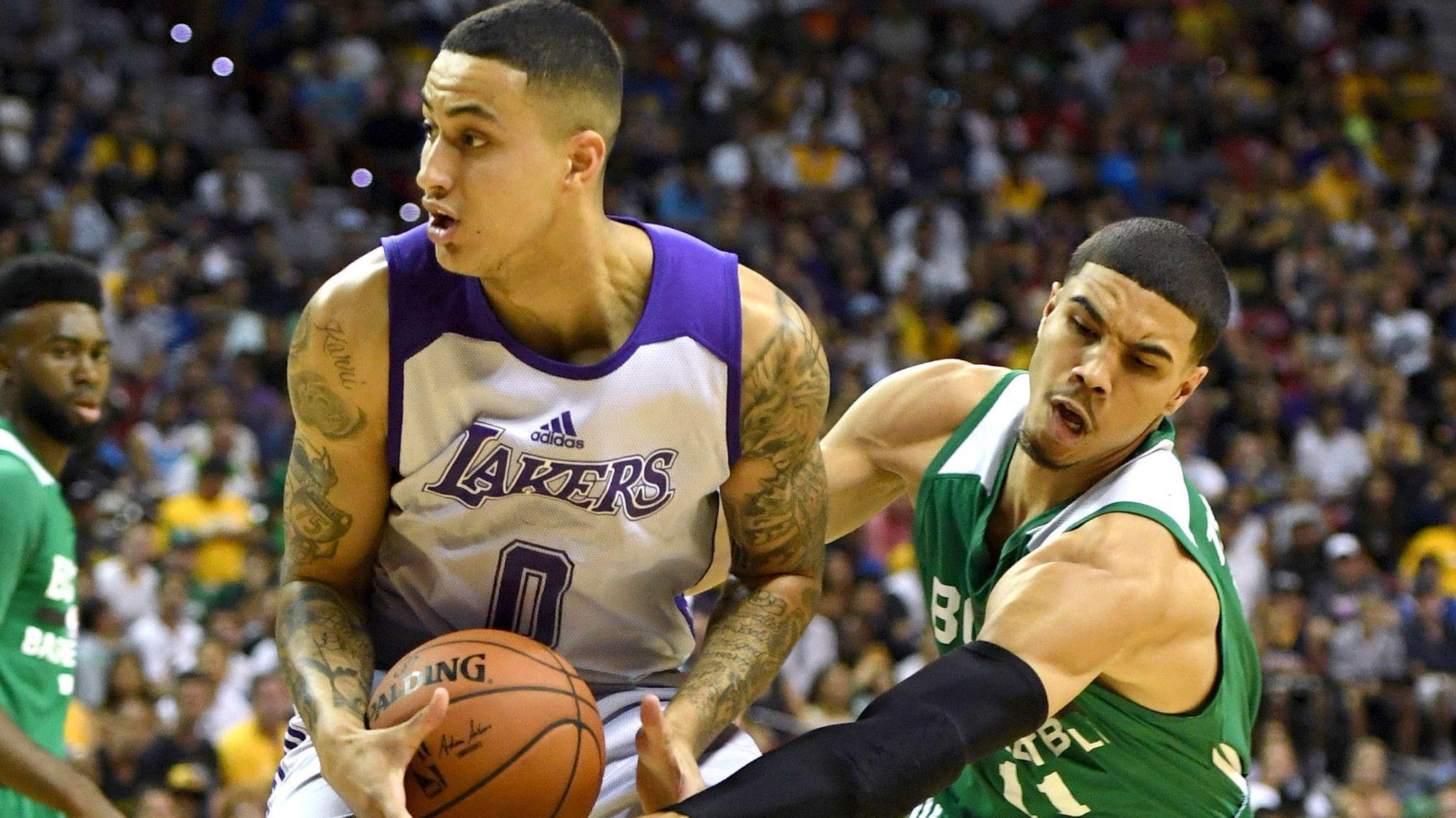 Lakers rookie Kyle Kuzma shines in second Summer League game - LA ...