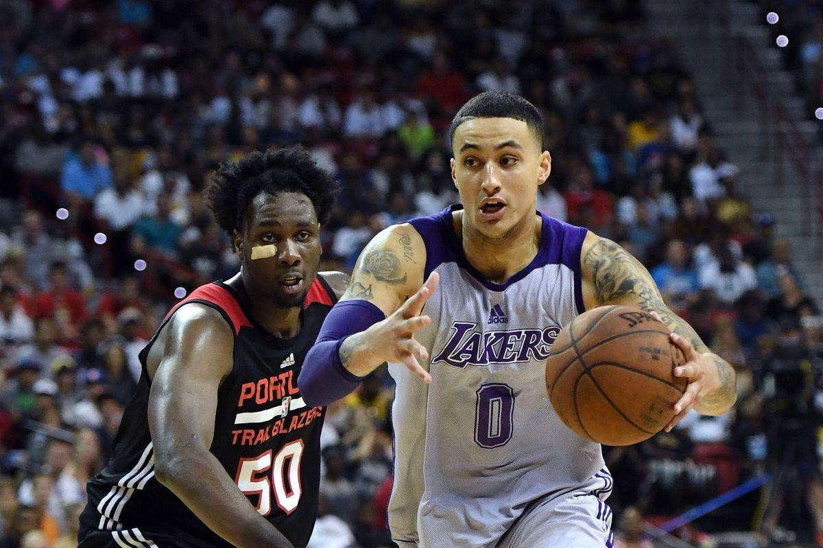 These videos show why Lakers forward Kyle Kuzma might be the steal