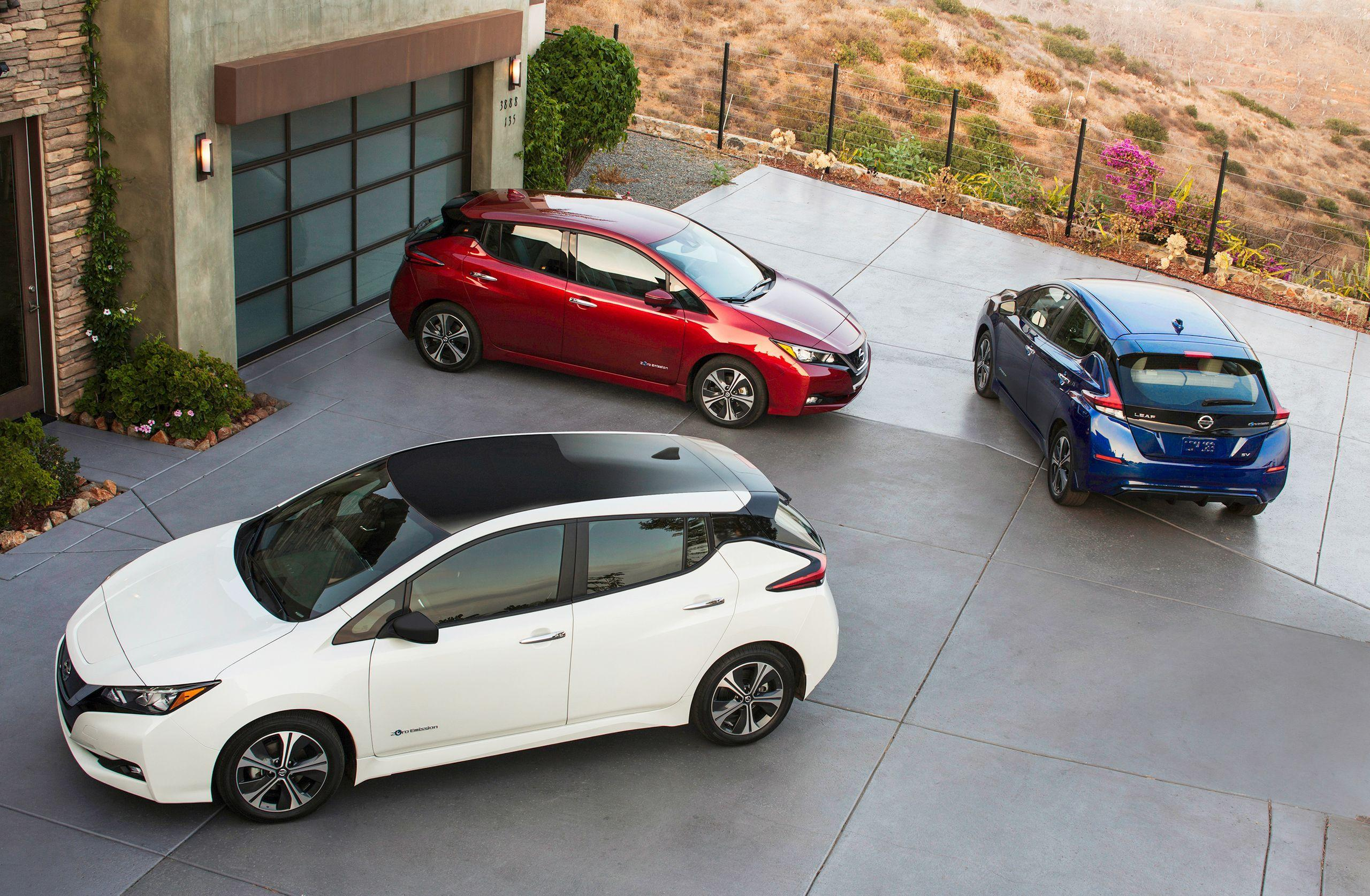 2018 Nissan LEAF Wallpaper Galore: Own It In January, On Your ...