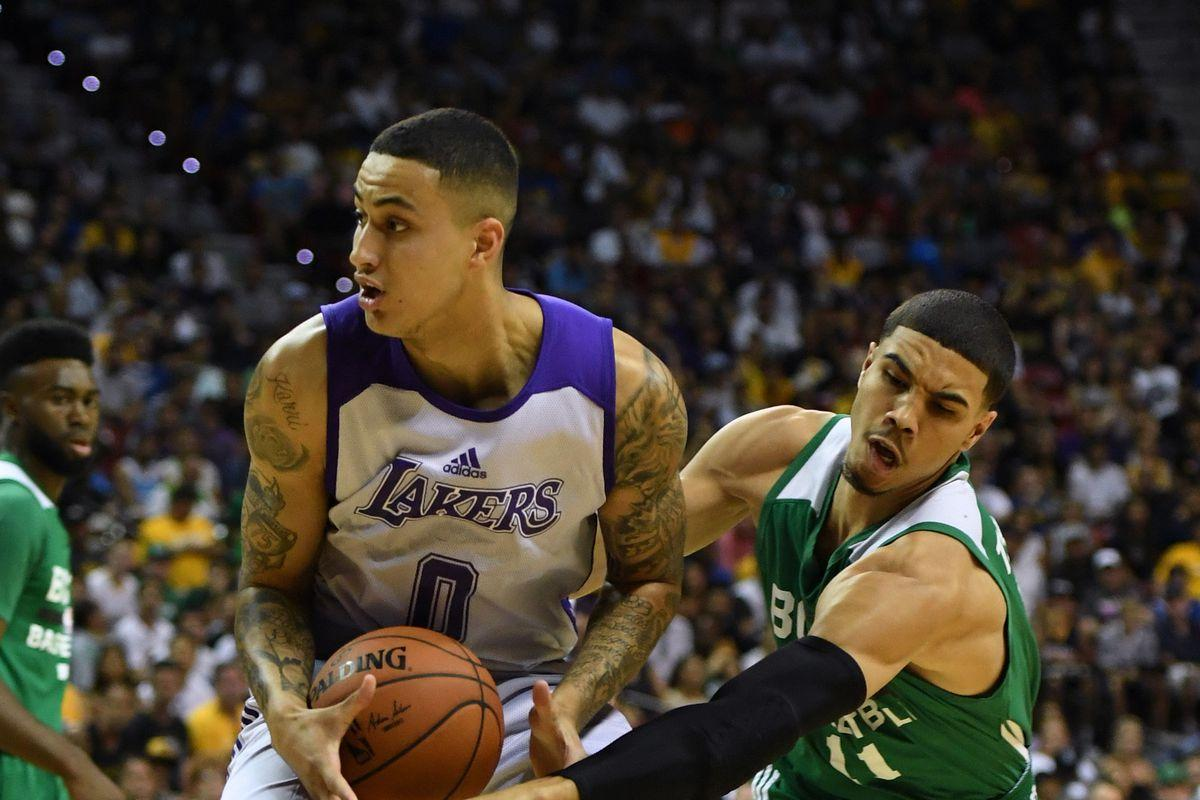 Kyle Kuzma has monster 31 point game for Lakers in Summer League