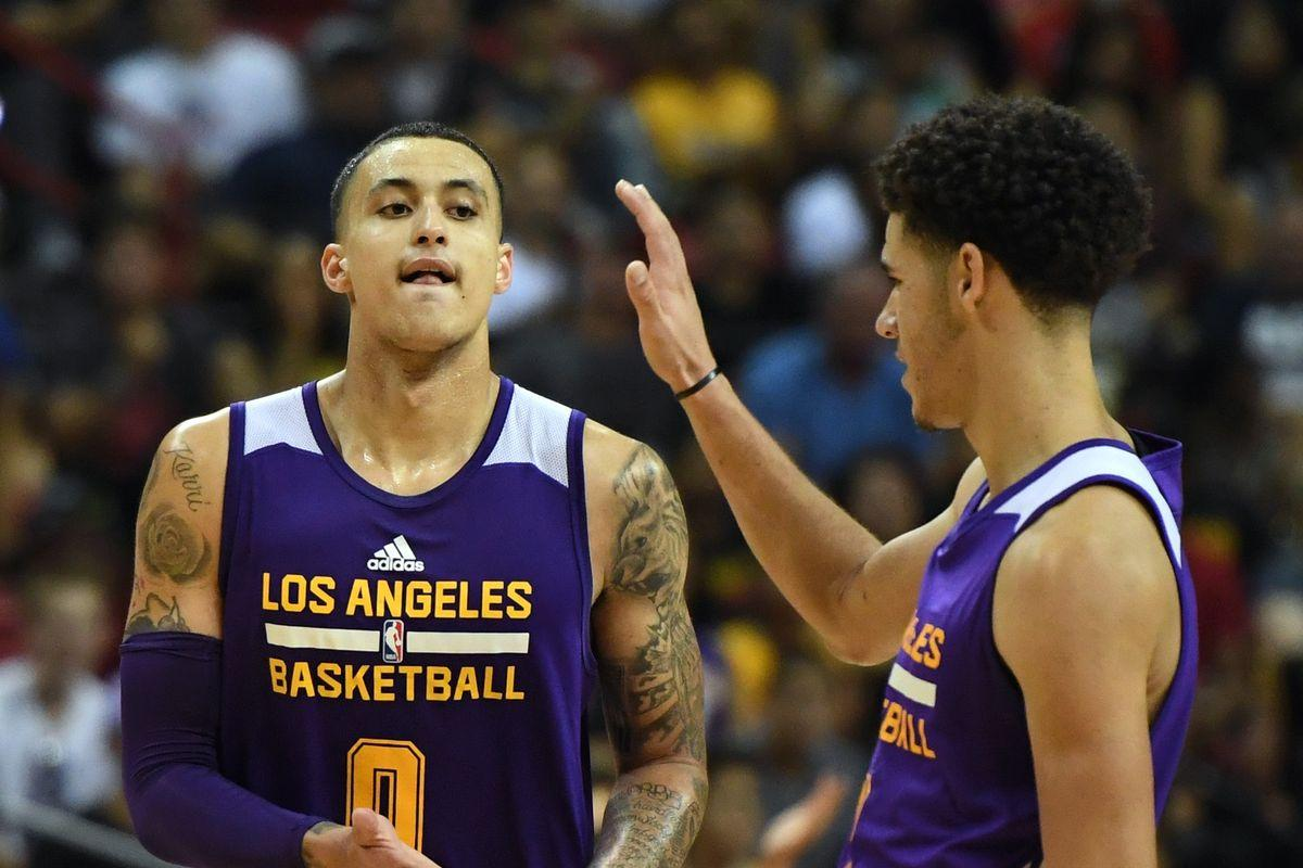 Lakers News: Lonzo Ball, Kyle Kuzma earn big nods from peers in