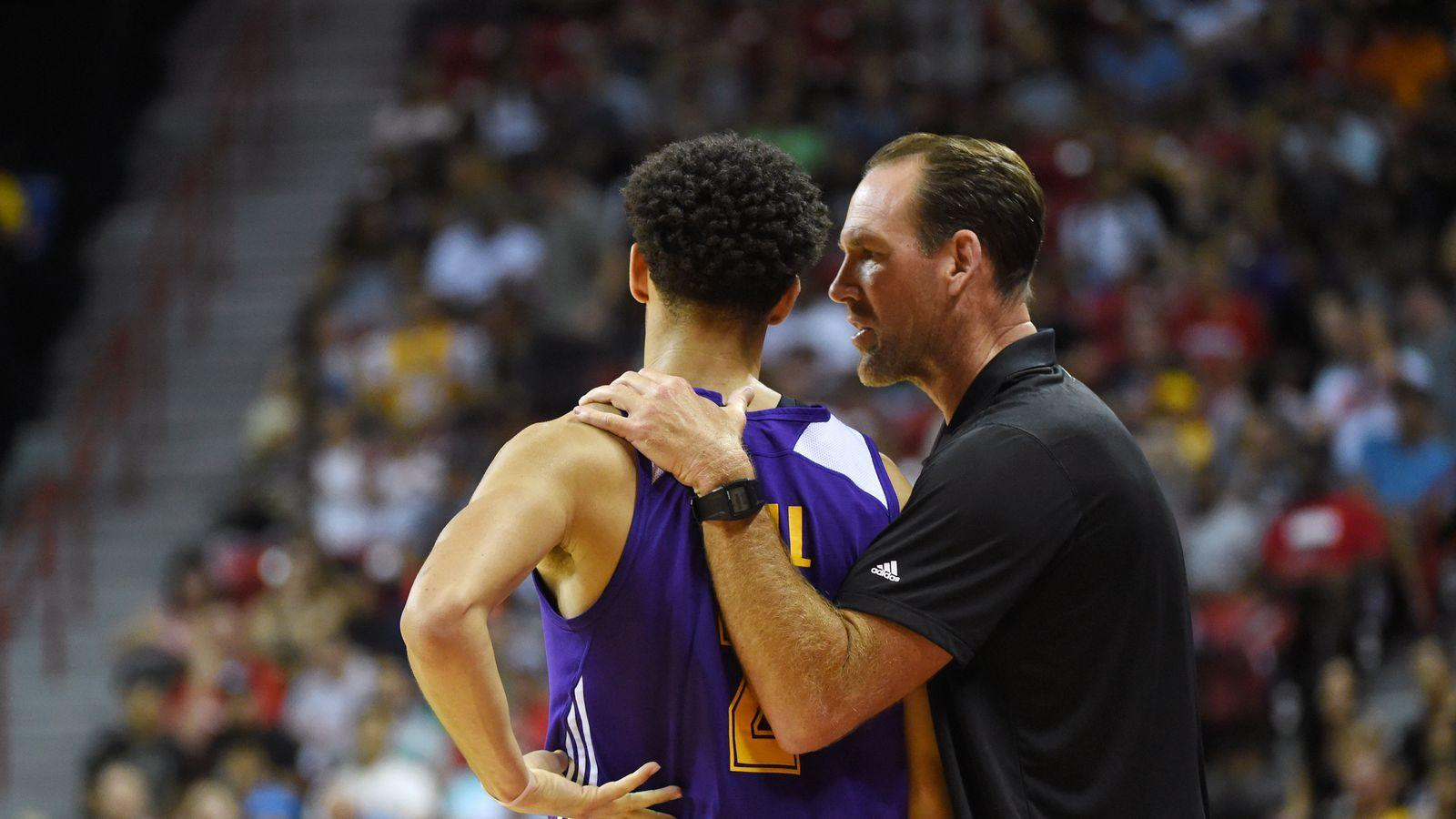 Jud Buechler plans to play Lonzo Ball and Kyle Kuzma in all of the ...