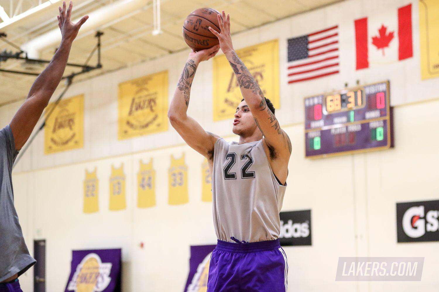 Lakers Acquire Kyle Kuzma at No. 27 | Los Angeles Lakers