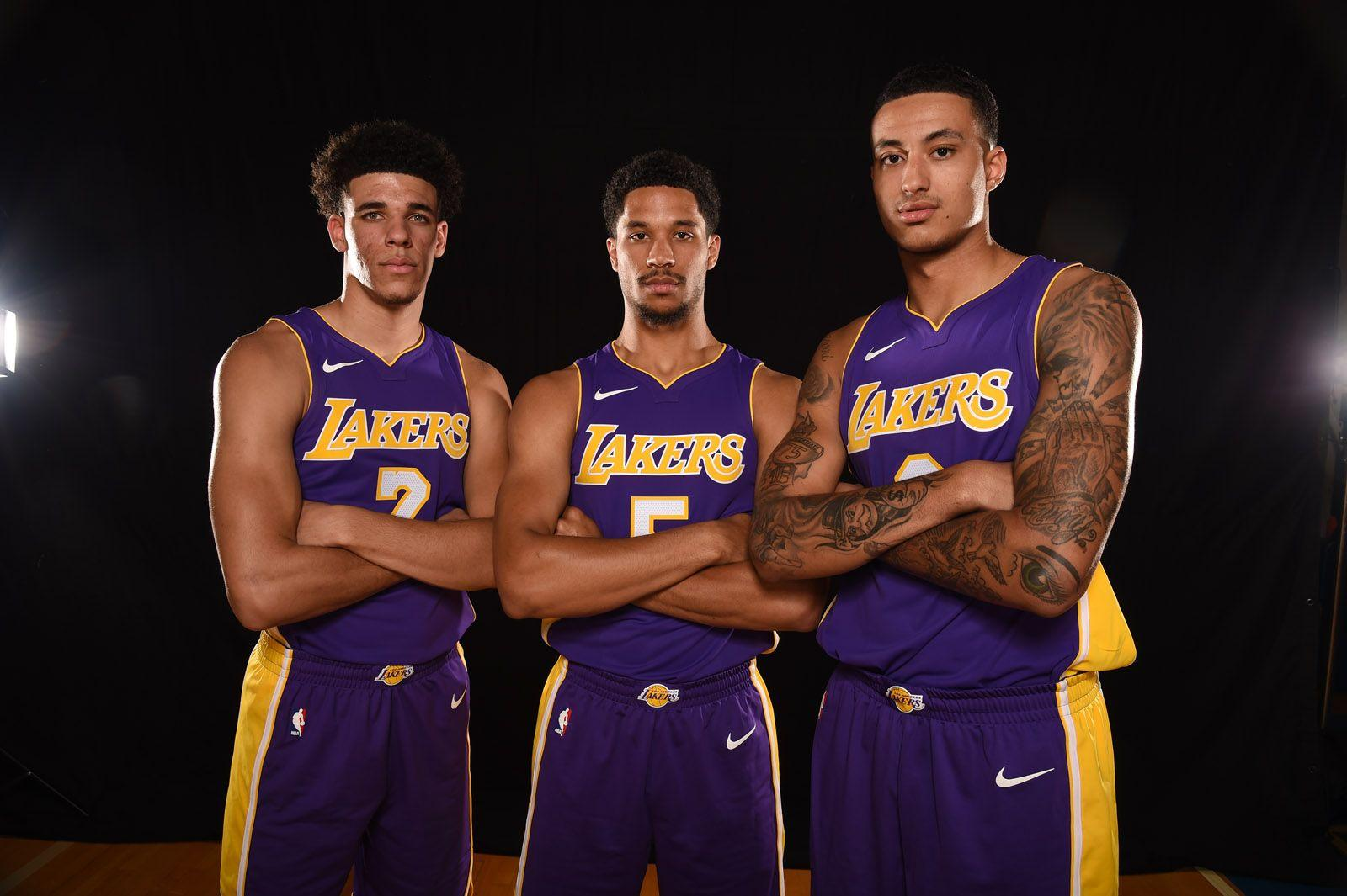 NBA Rookie Photoshoot | Los Angeles Lakers
