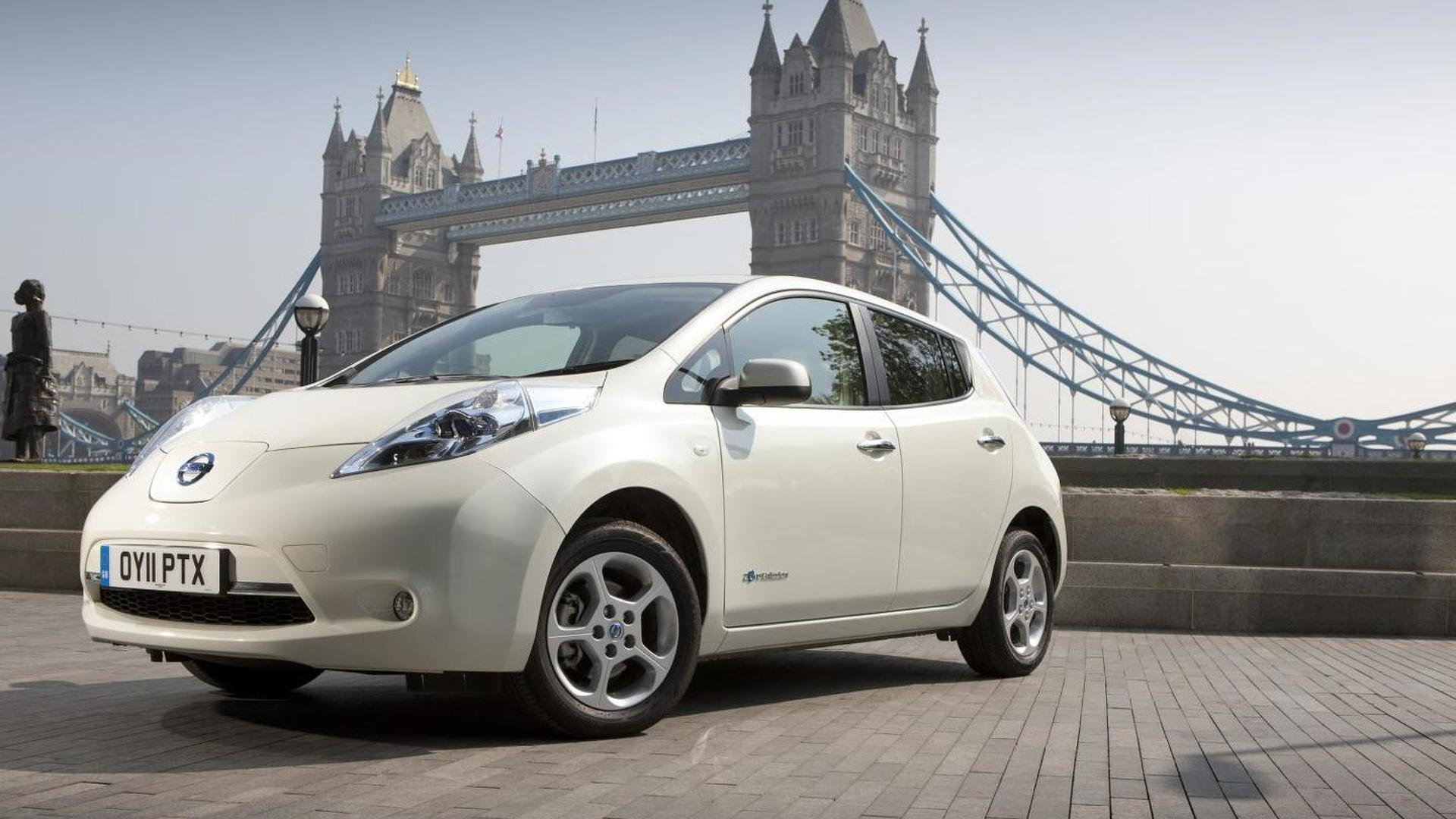 Nissan slashes Leaf price in Europe by 3,000 EUR