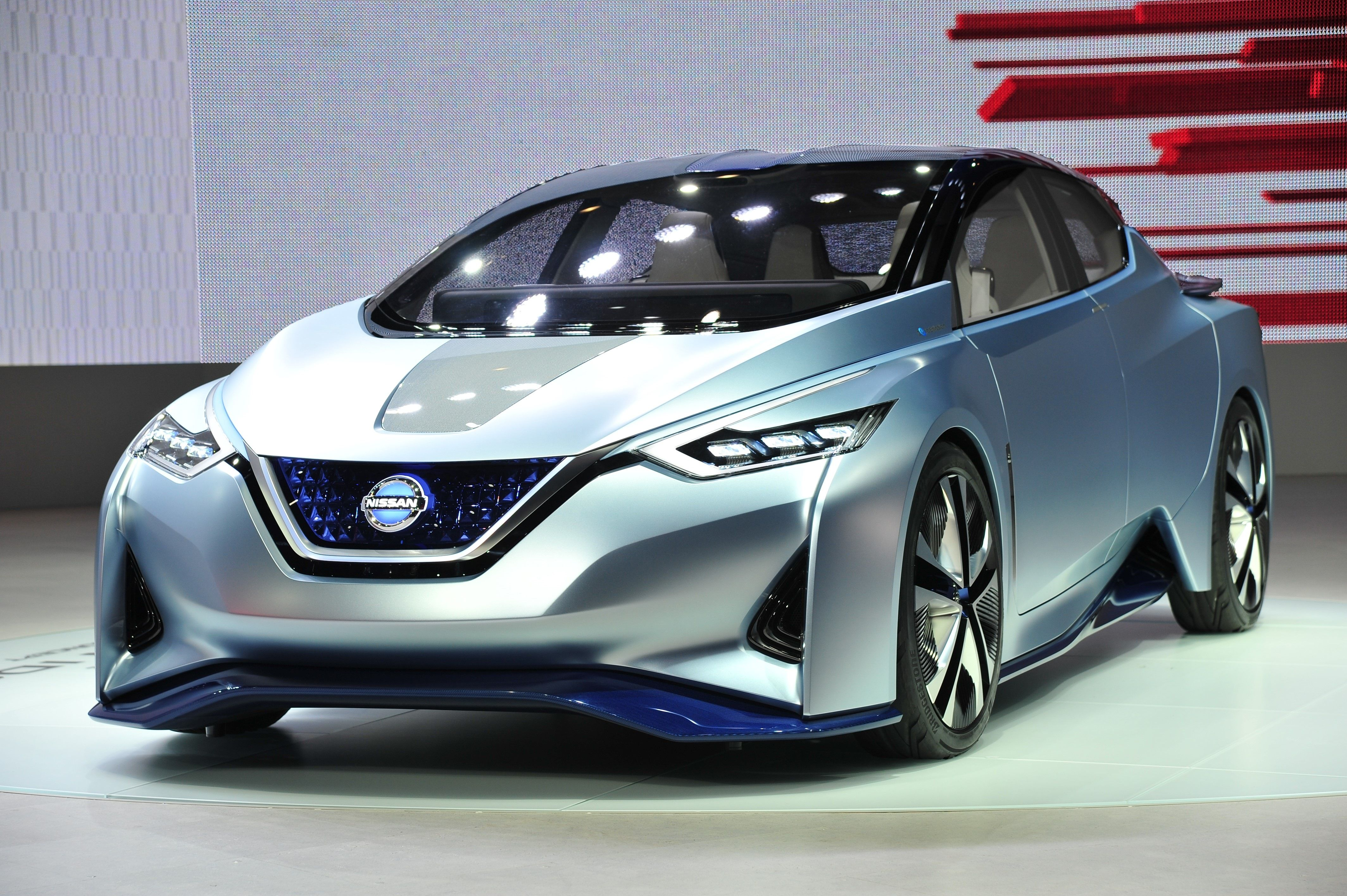 NISSAN LEAF electric car model 2017 wallpapers and images ...